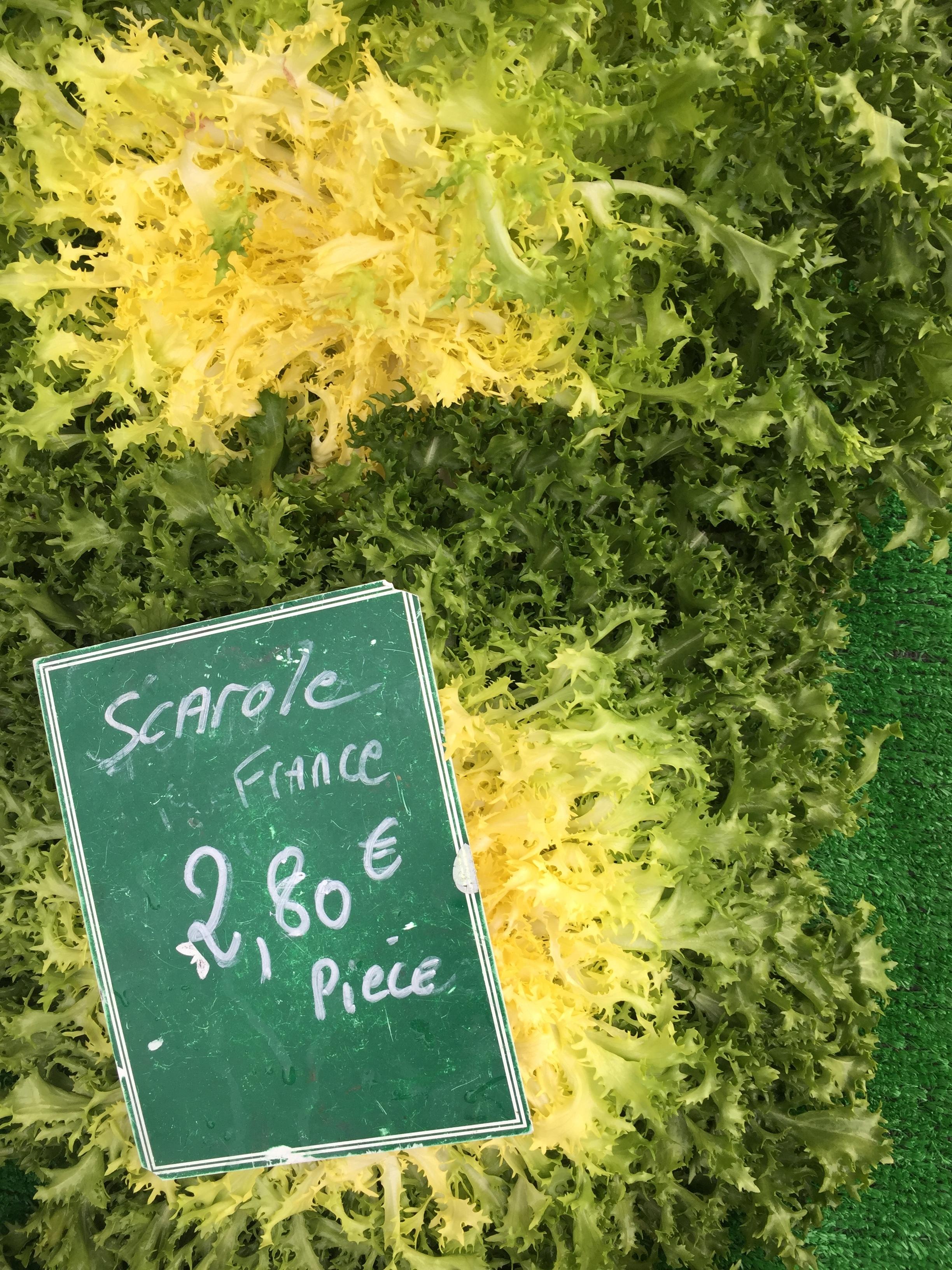 Carhaix Weekly Market Brittany Endive