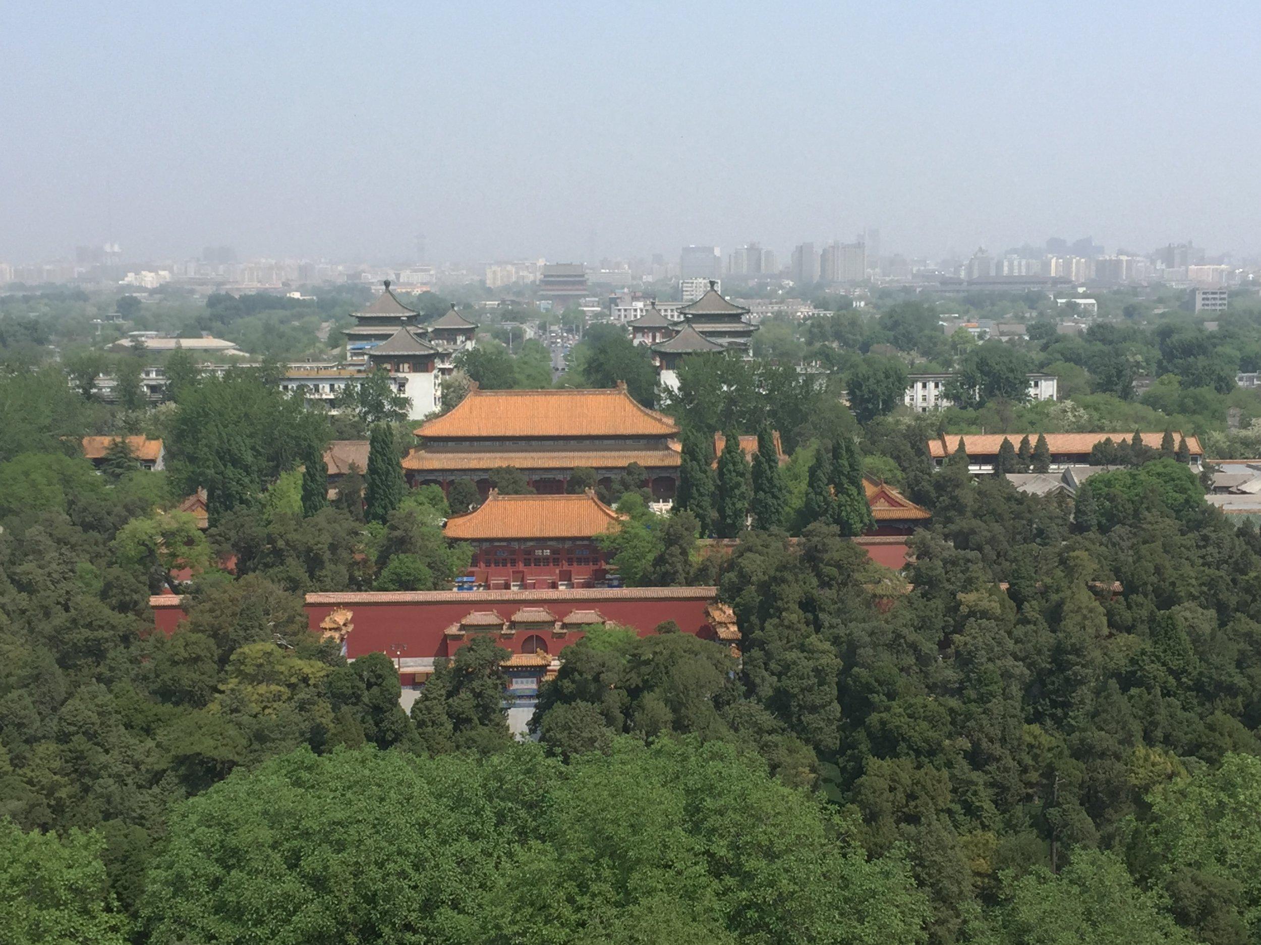 Views from Jingshan Park, Beijing