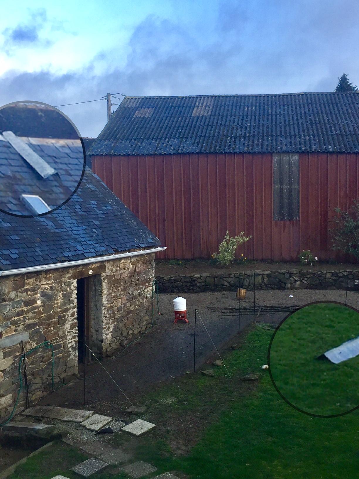 Drawback of House Sitting: Wind Damage!