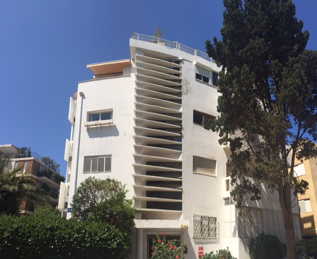 Bauhaus Architecture in Tel Aviv