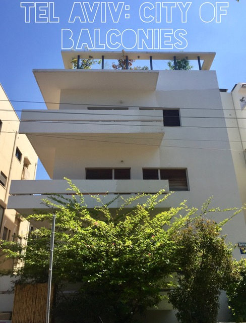 Bauhaus Tel Aviv Style: Balconies & Rooftop Garden!