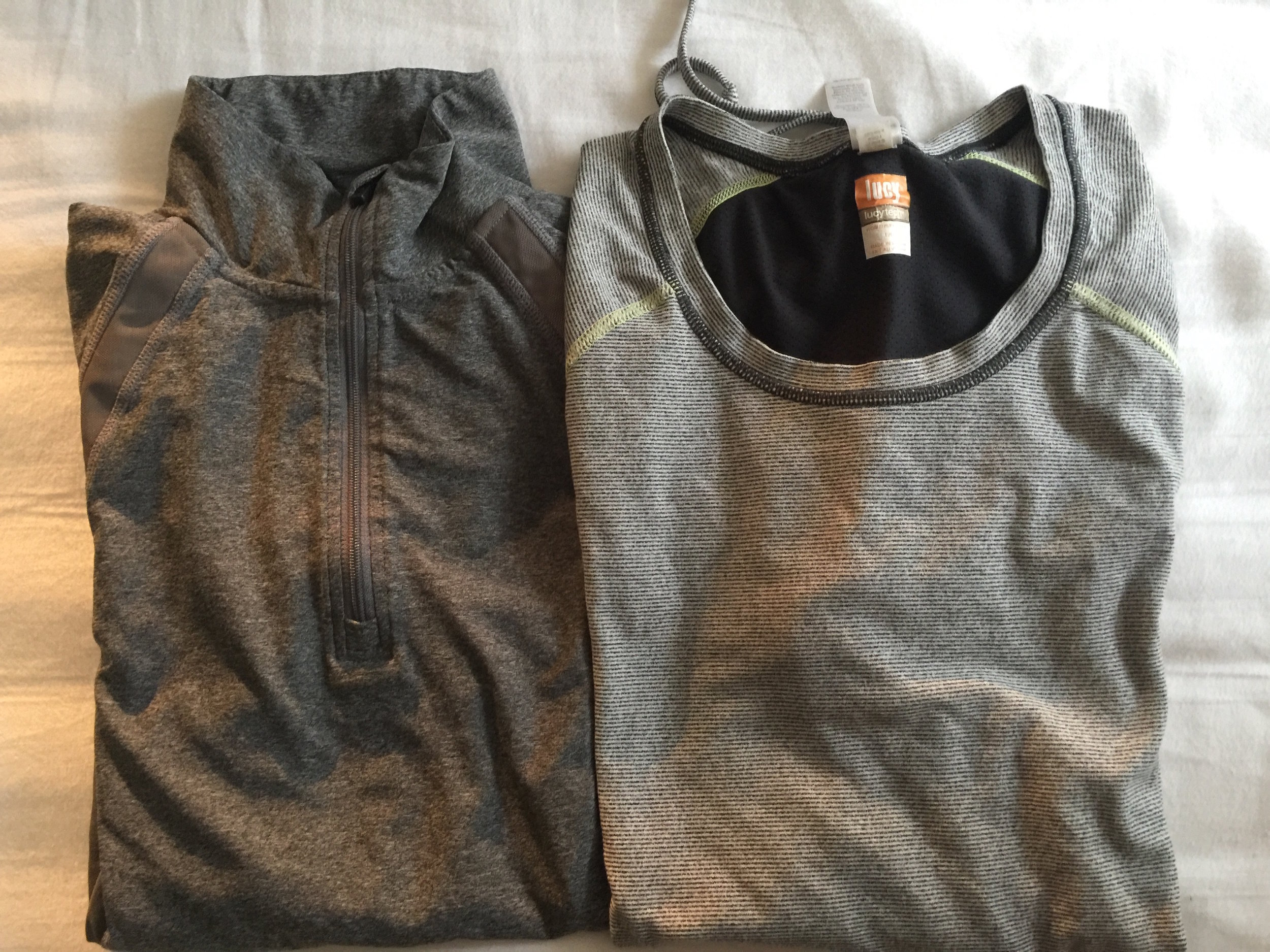Travel Essentials Workout Shirts