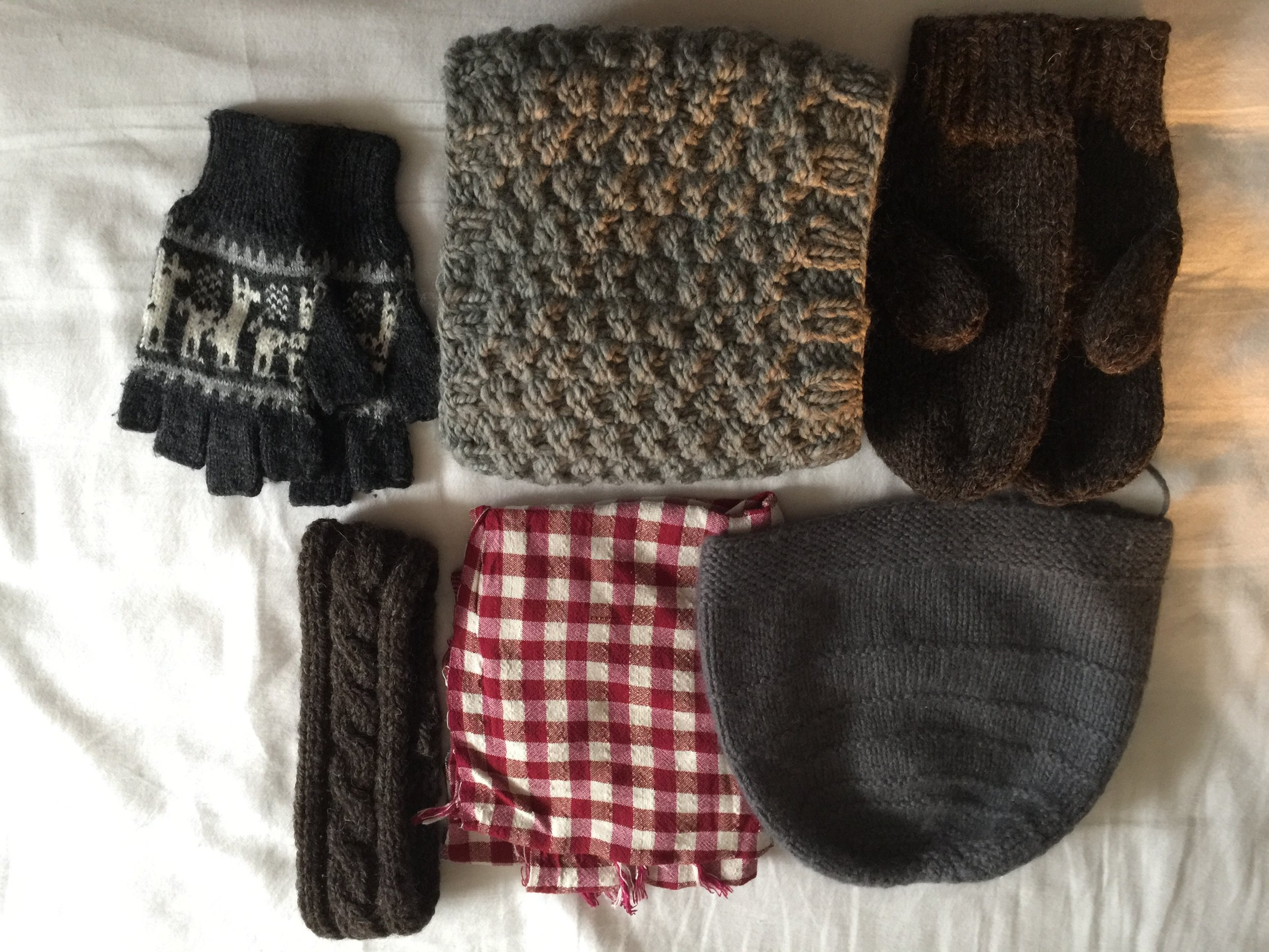 Travel Essentials - Winter Accessories