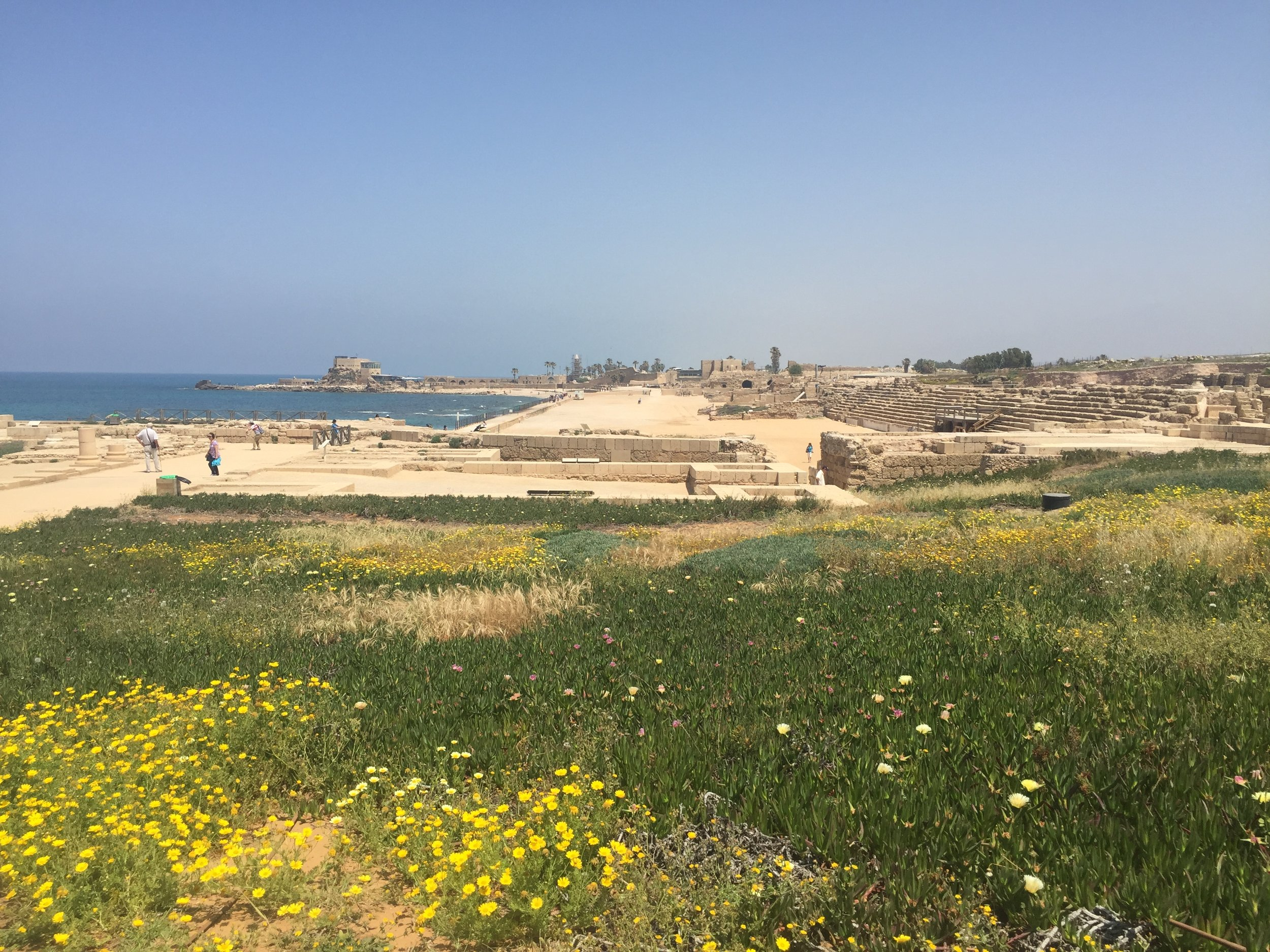 7 Israeli National Parks in 7 Days Caesarea