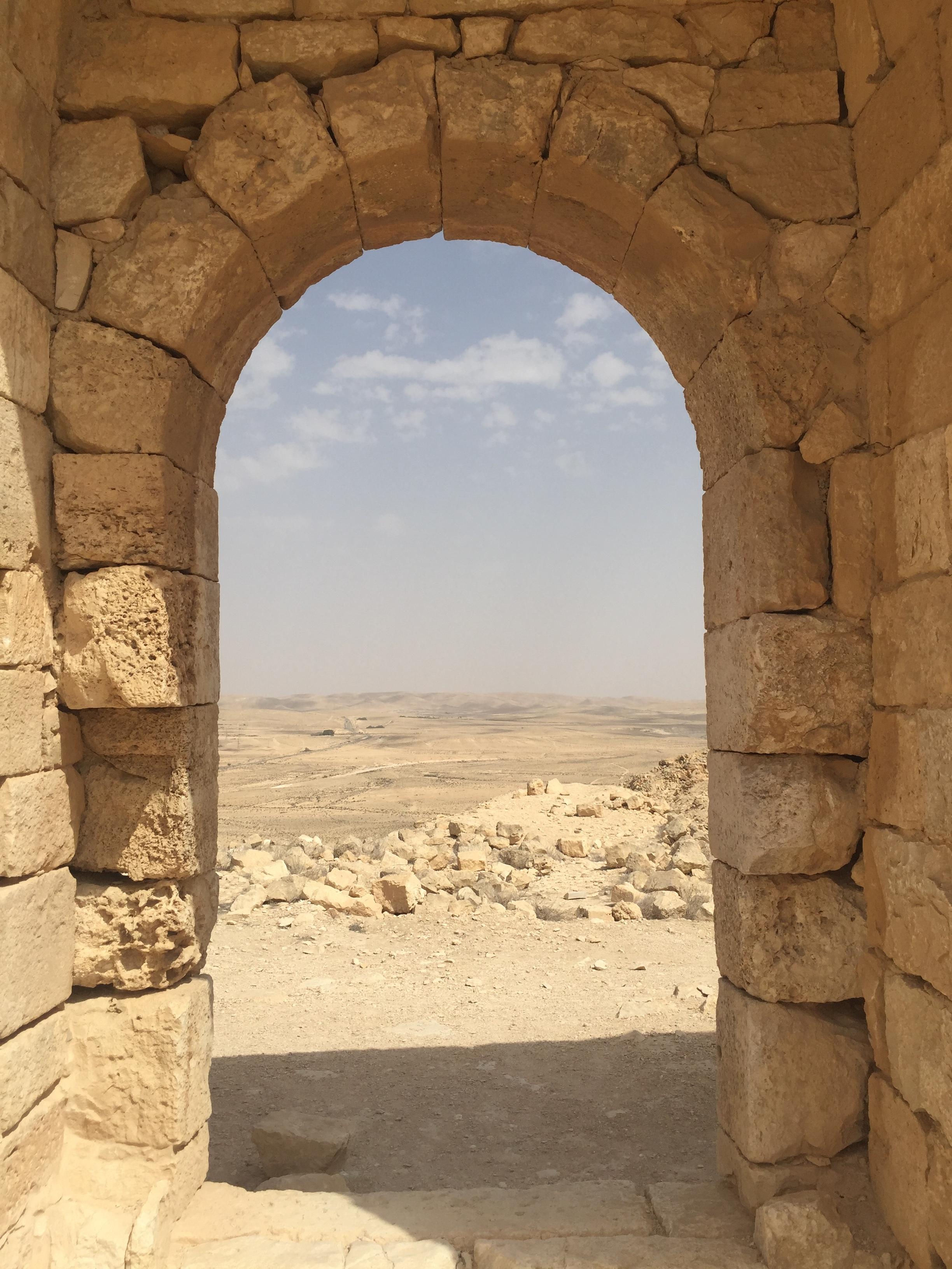 7 Israeli National Parks in 7 Days Avdat Arch