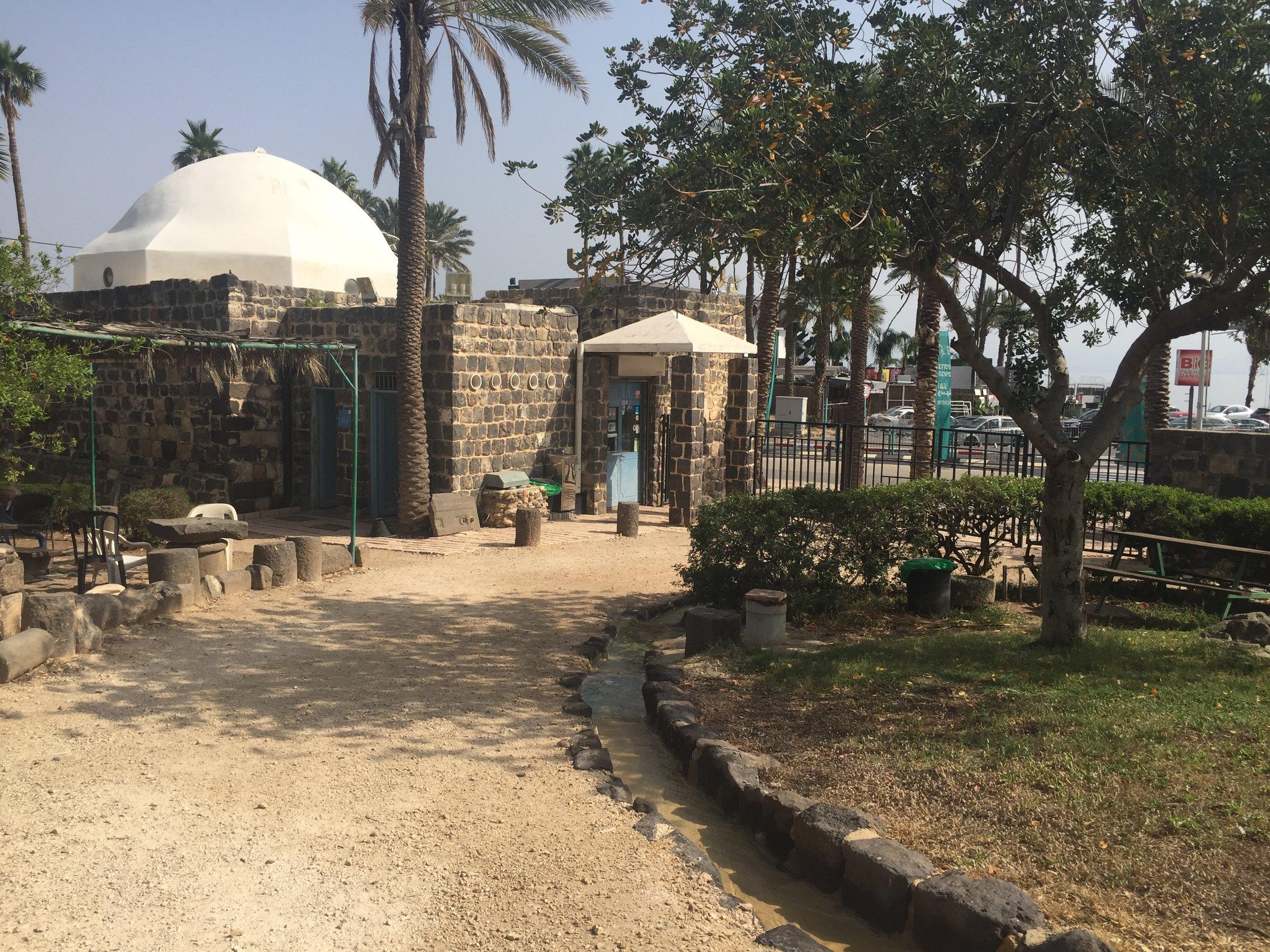 7 Israeli National Parks in 7 Days Tiberias.JPG