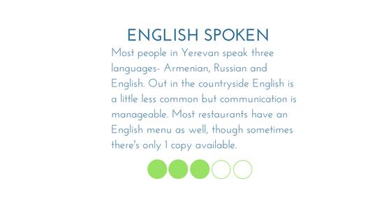 Armenia English Spoke Graphic