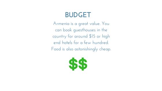Armenia Budget Graphic