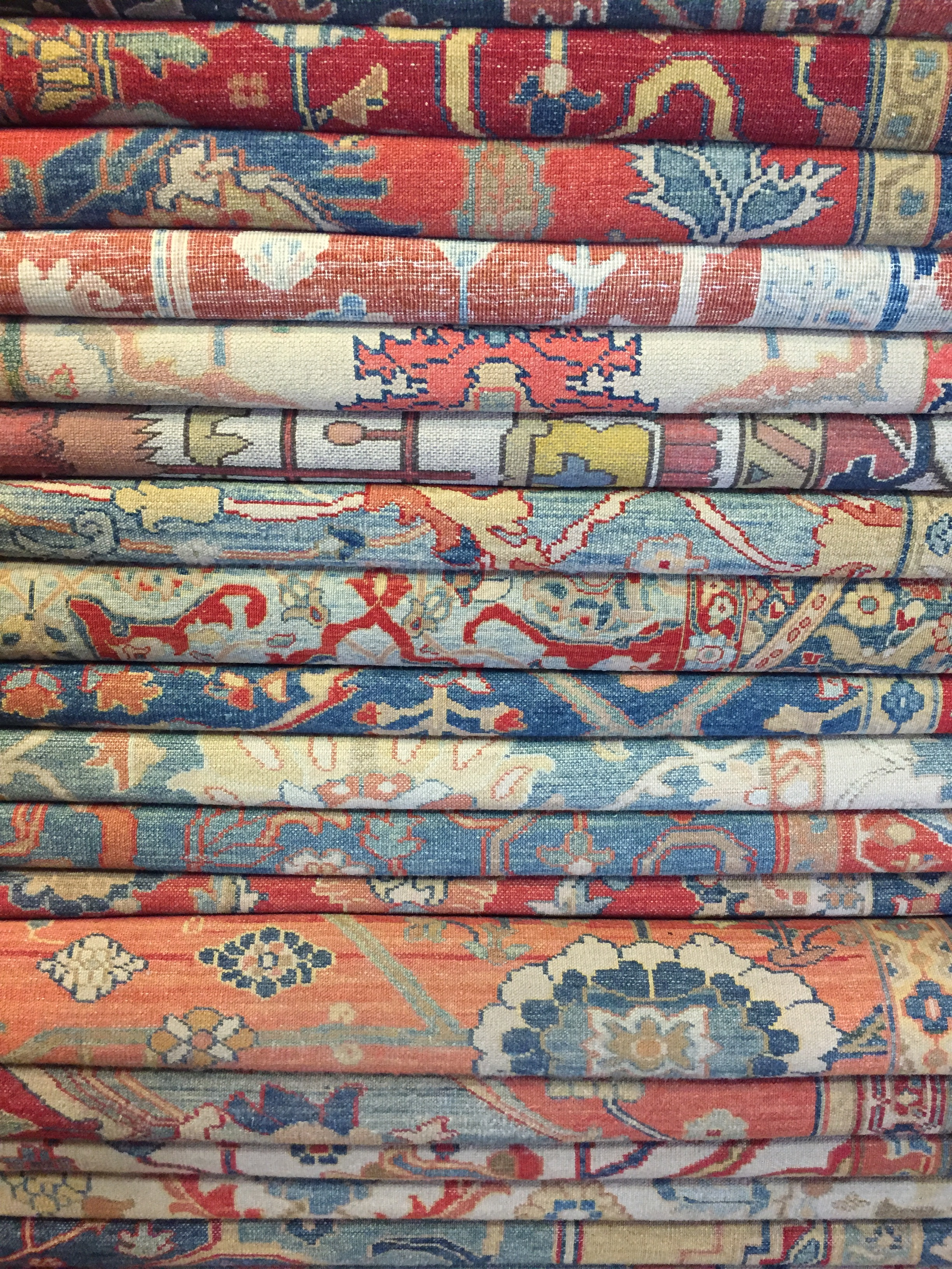 A Stack of Rugs, Istanbul