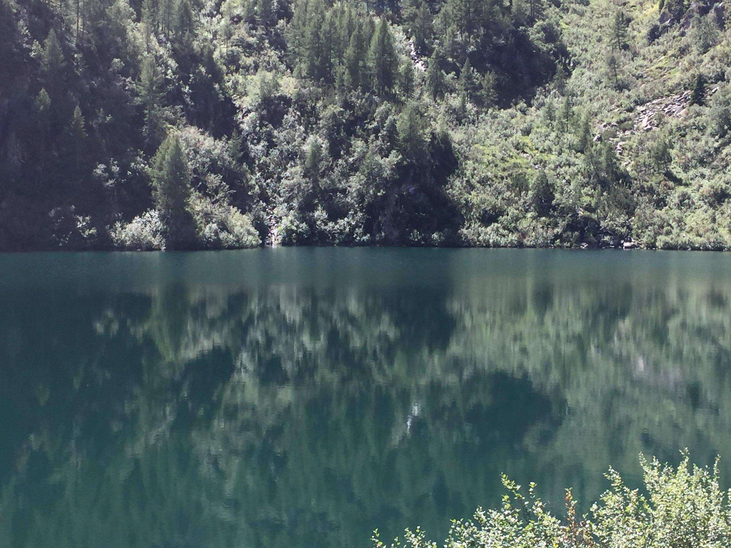 Reflections in Lago di Barco