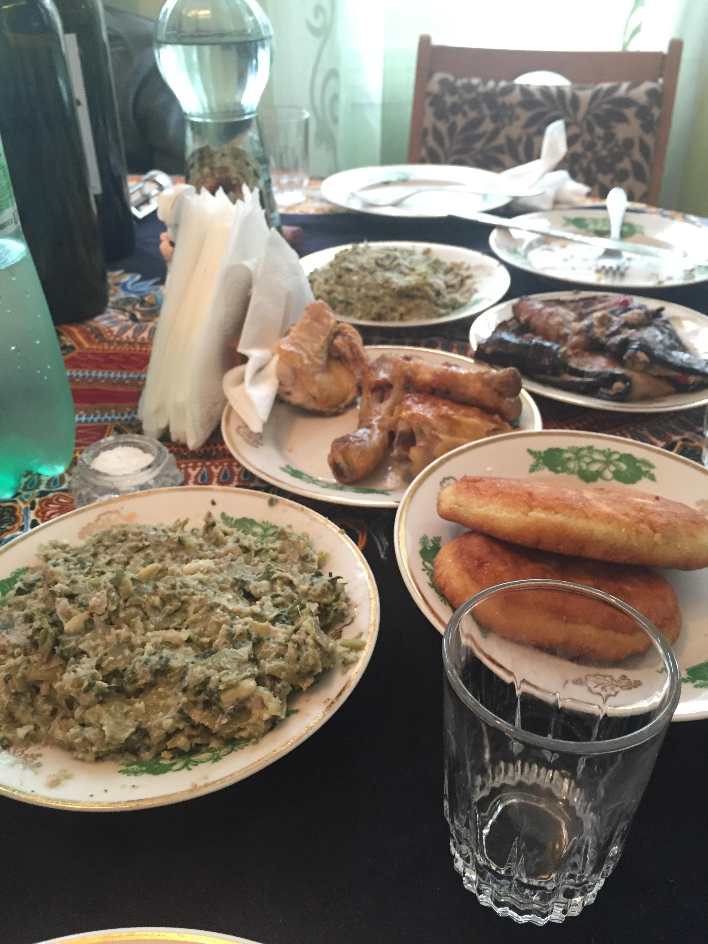 Tons of amazing food!