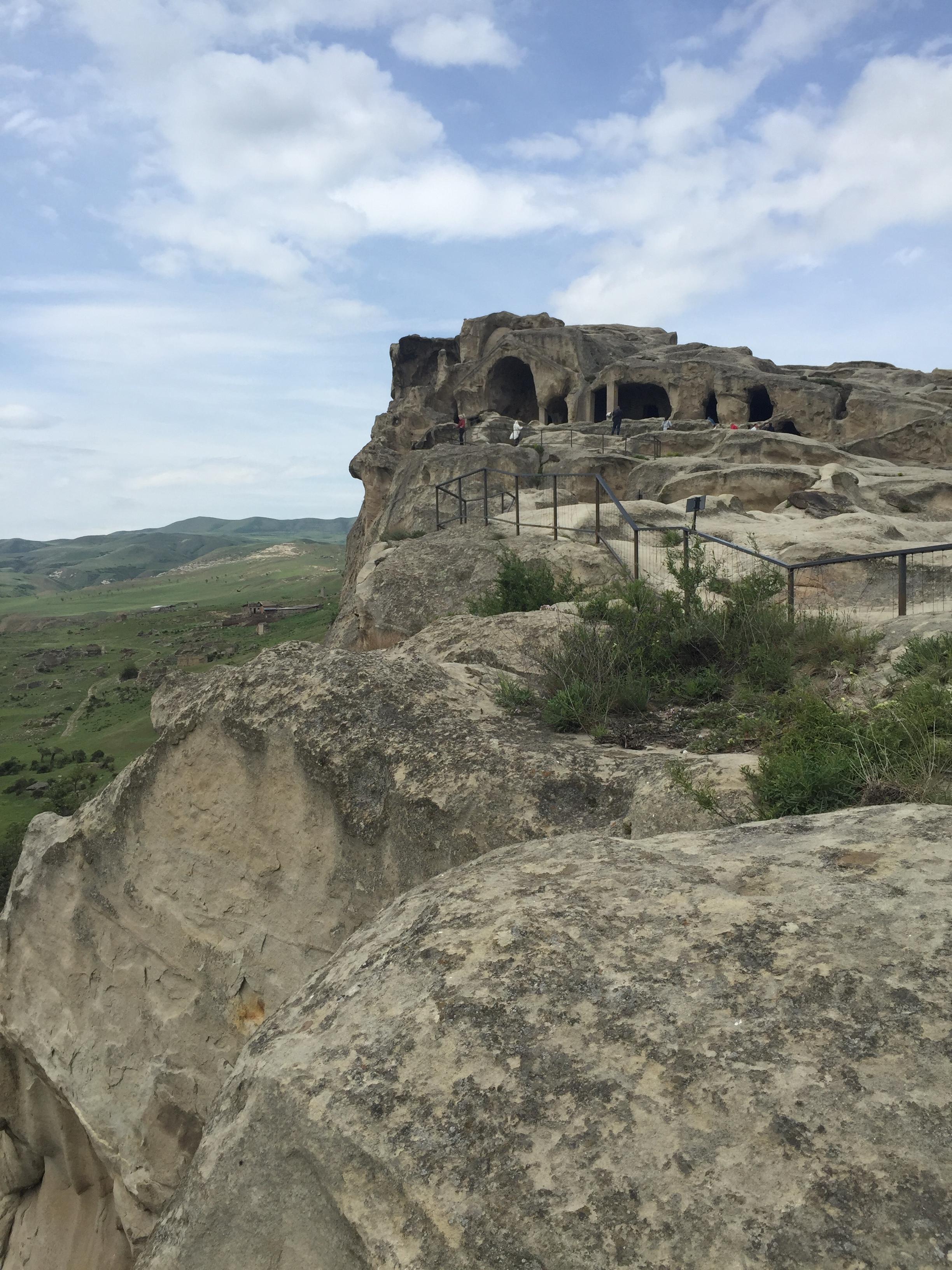 The ancient Uplistsikhe cave city