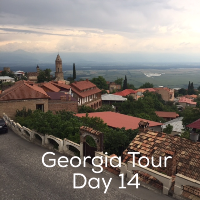 Day 14 Georgian Tour with Living Roots
