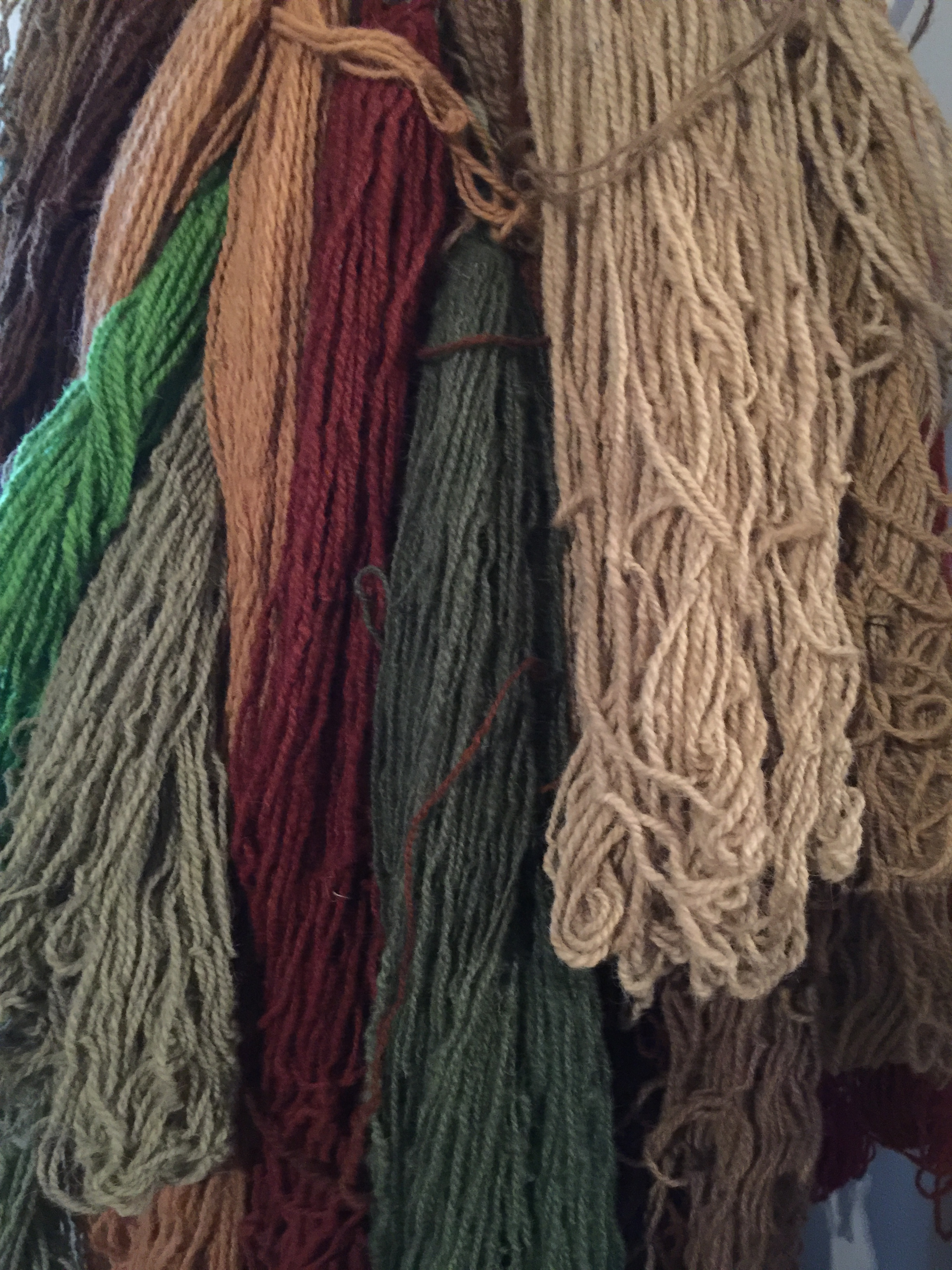 A sampling of Lila's dyes