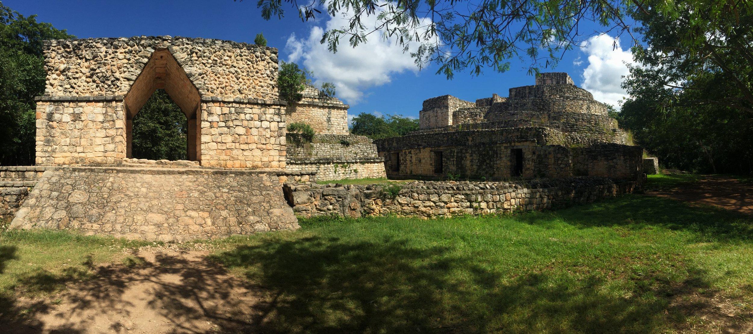 This first group of ruins we came upon at Ek'Balam