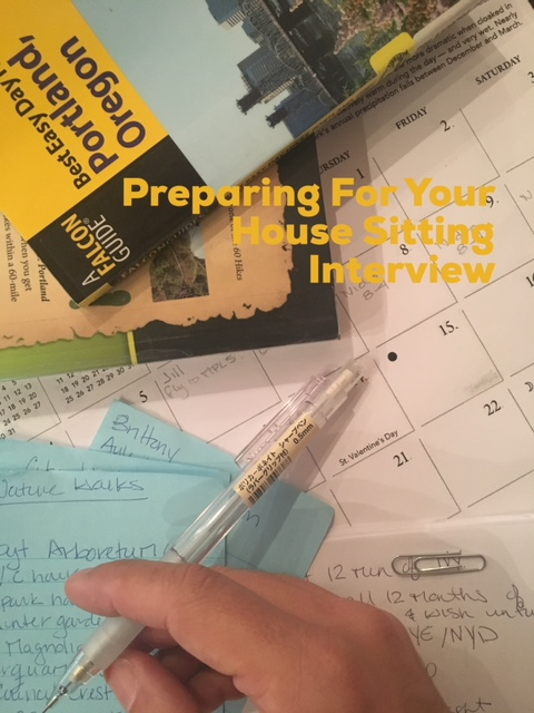 Preparing for Your House Sitting Interview