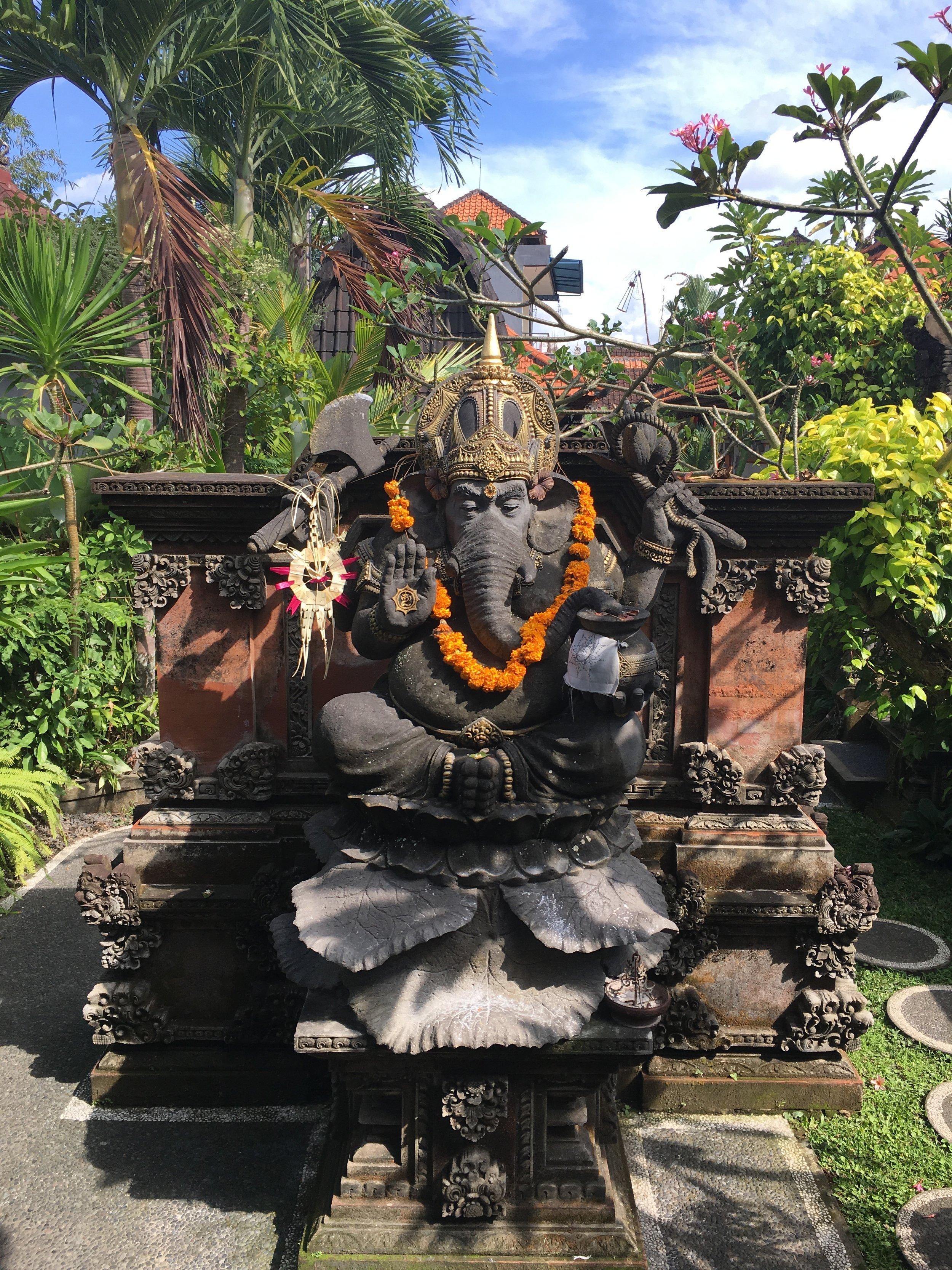 Weekly Travel Highlight: Ganesha in Ubud, Bali