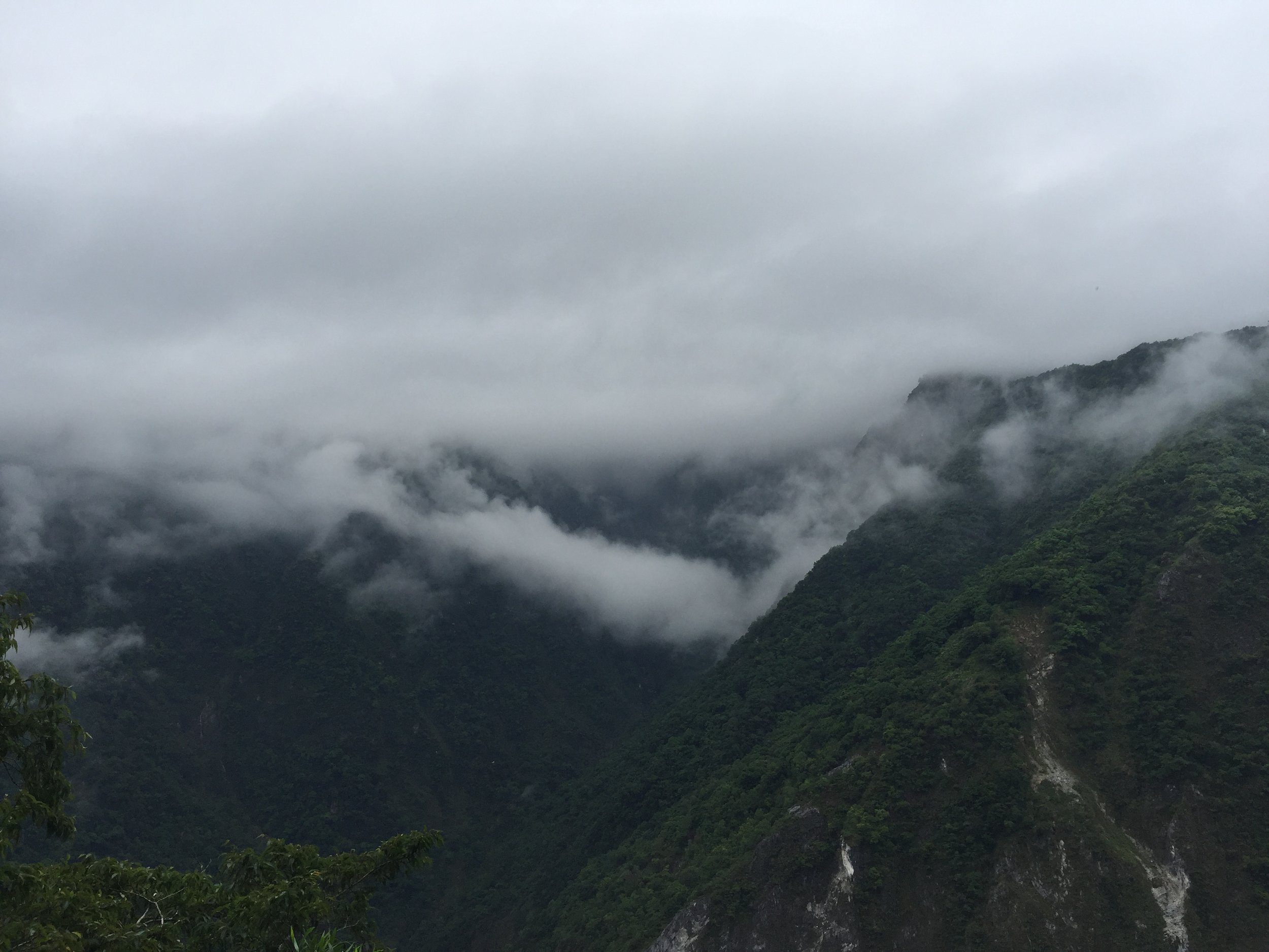 Views from the top at Taroko Gorge