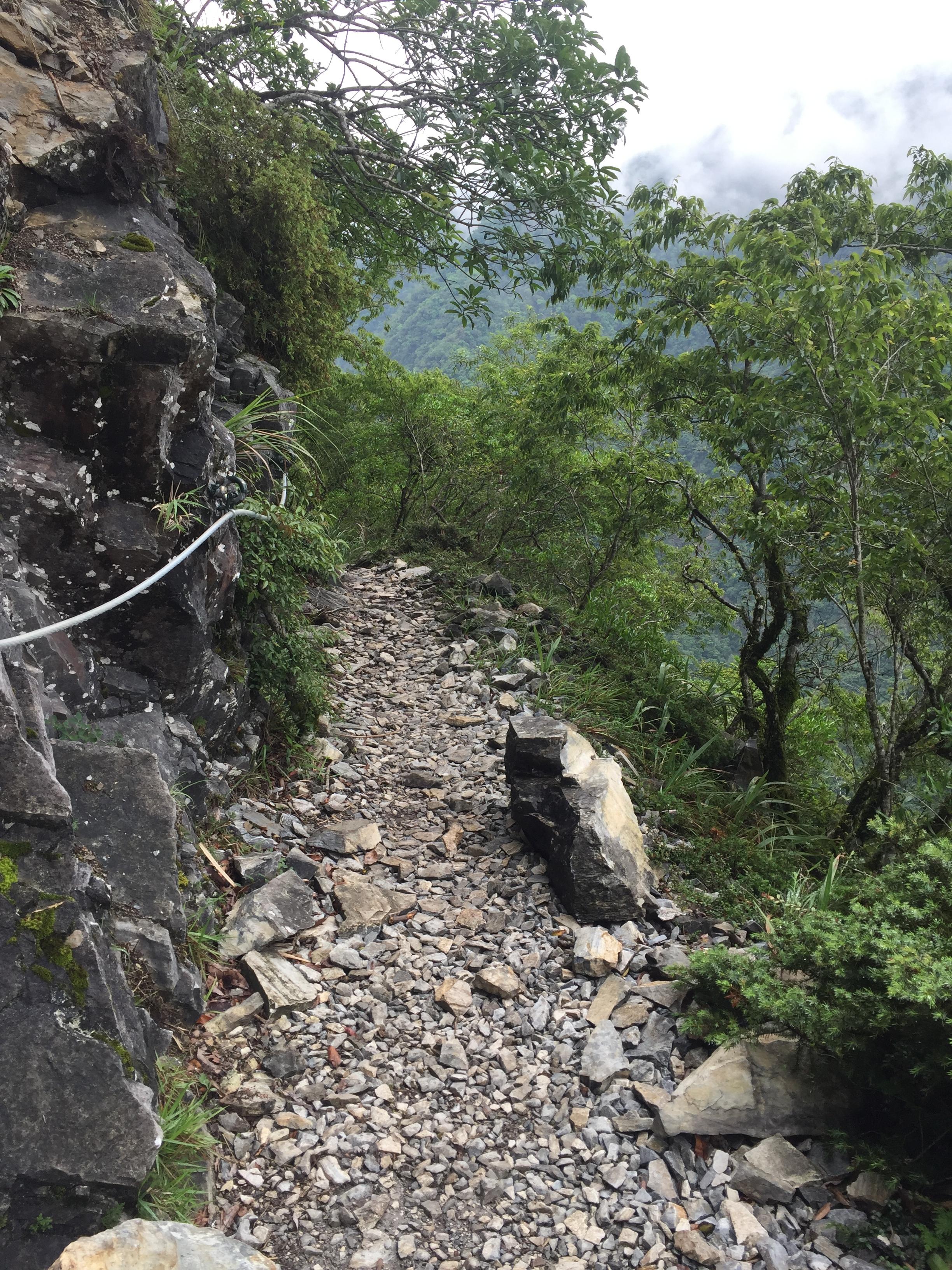 Walking Path in Taroko Gorge