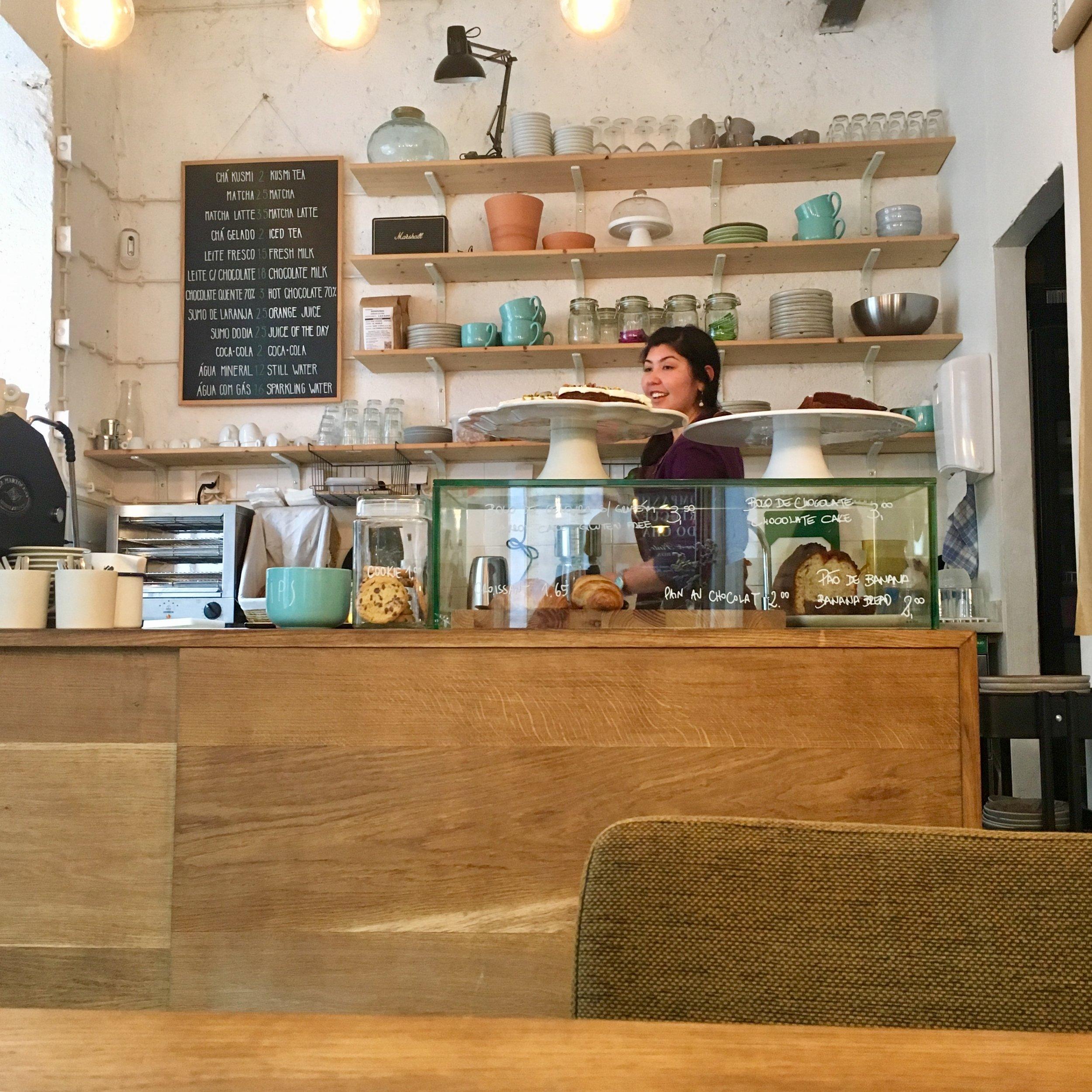 Best Coffee Shop in Lisbon- Hello Kristof