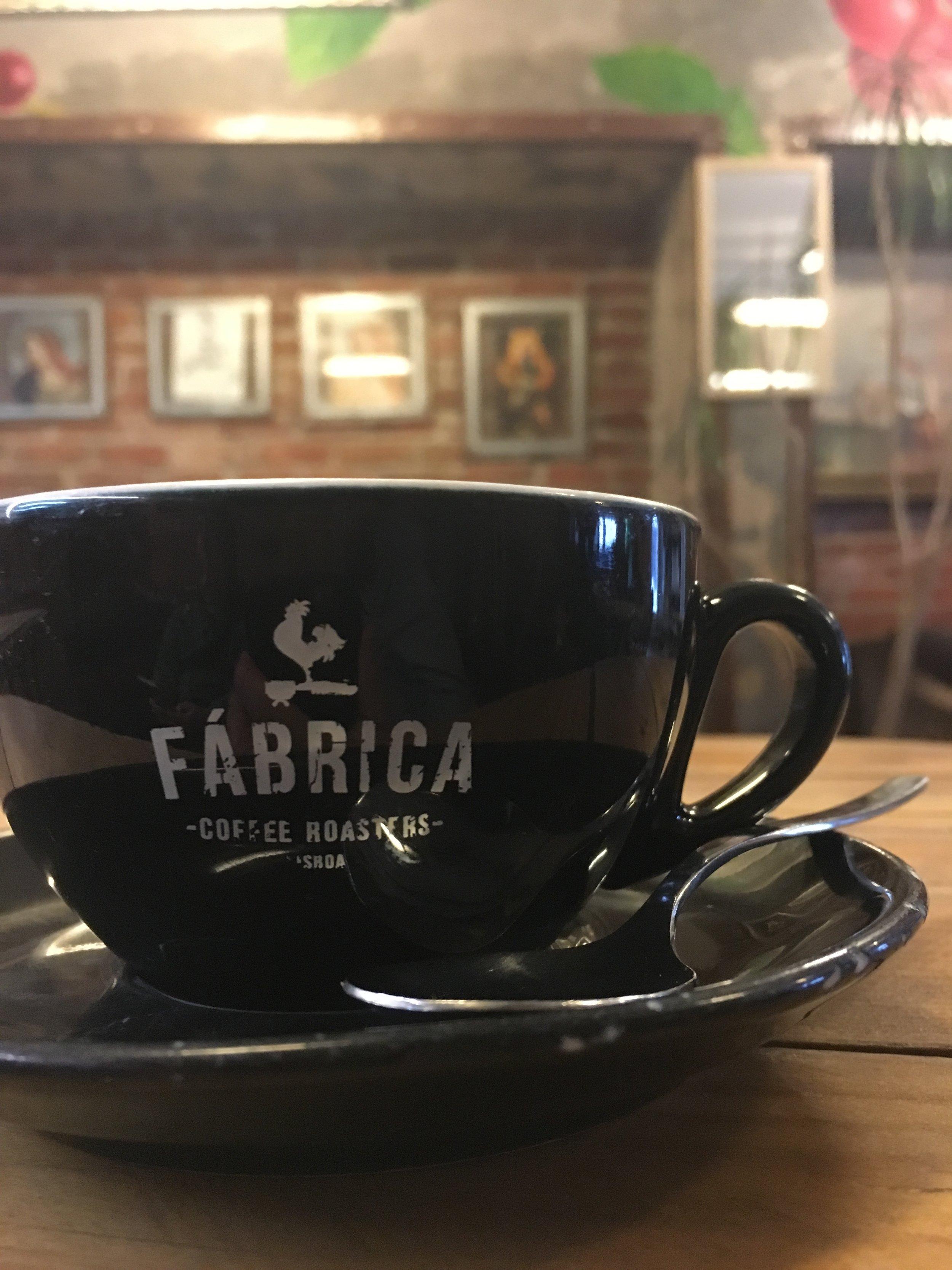 Best Coffee Shop in Lisbon- Fabrica Coffee Roasters