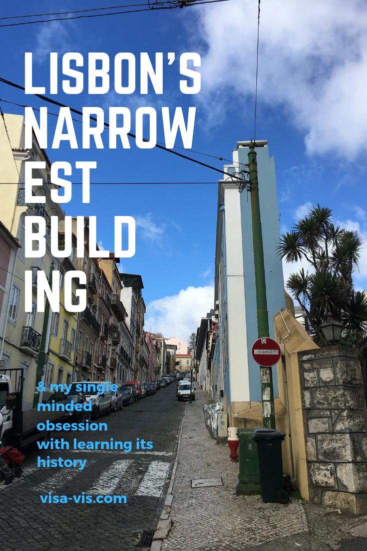 Lisbons Narrowest Building