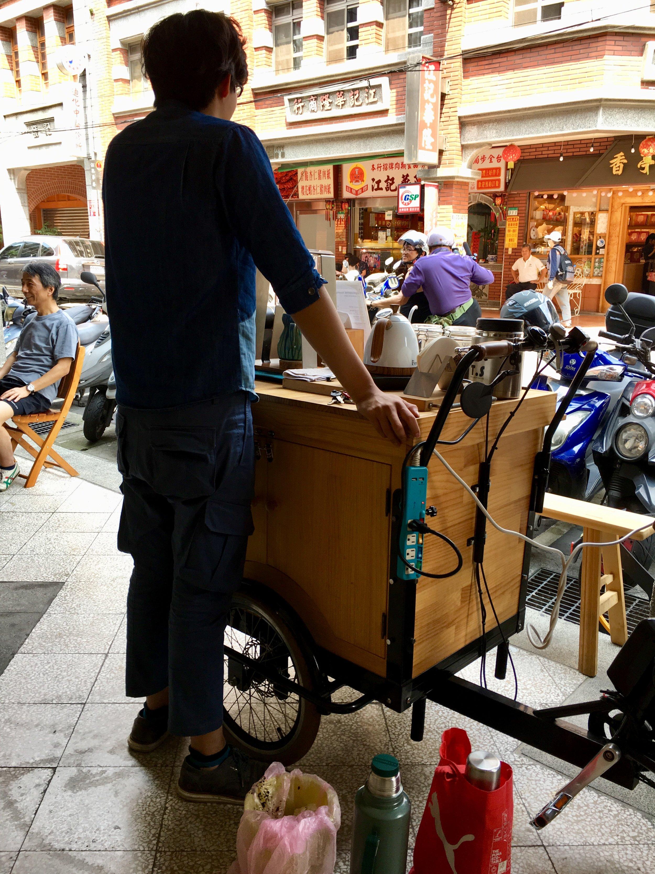 Coffee Cart in Taipei