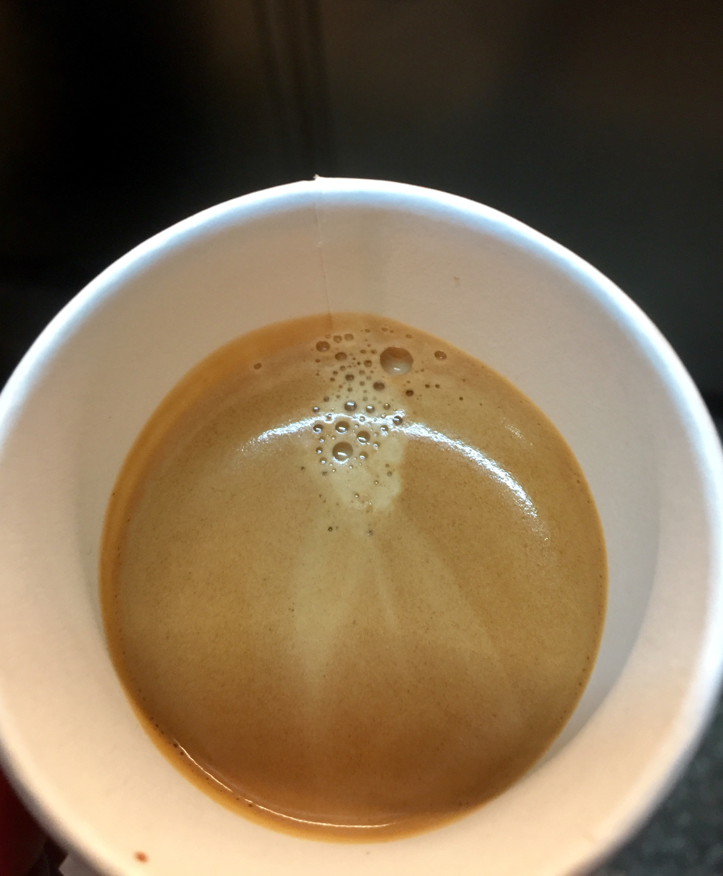 Look at that crema!