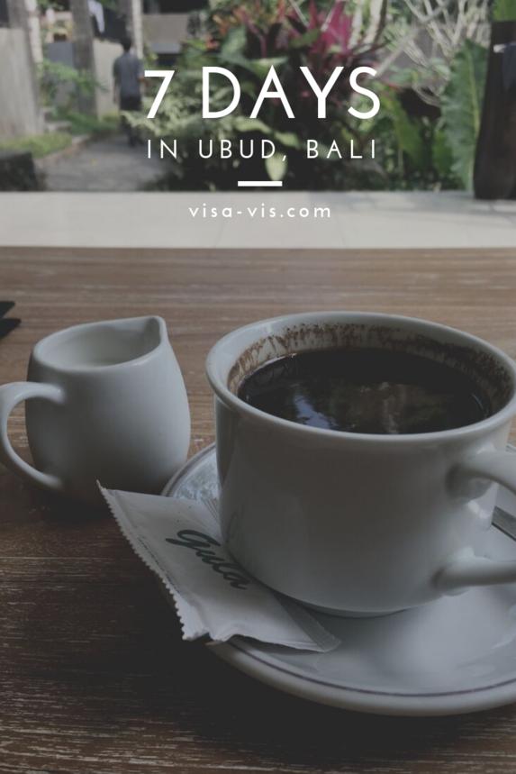 7 Days in Ubud, Bali