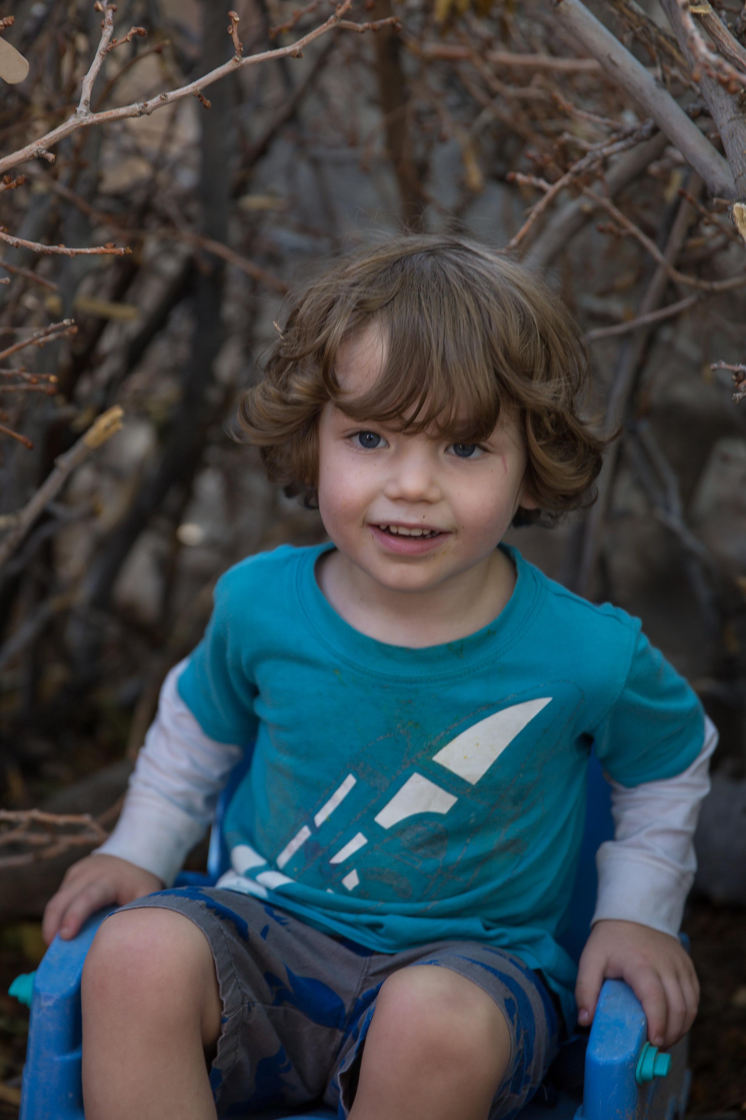 Child portrait example