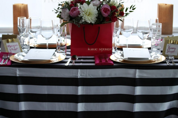 Kate Spade Tablescape at IT'S A PARTY! Open House Event.