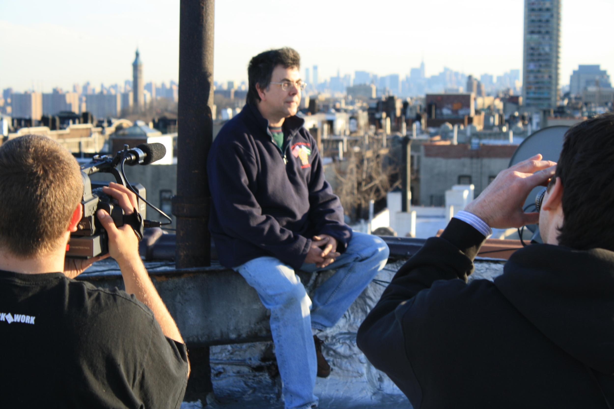 TAKI 183 being interviewed for Wall Writers