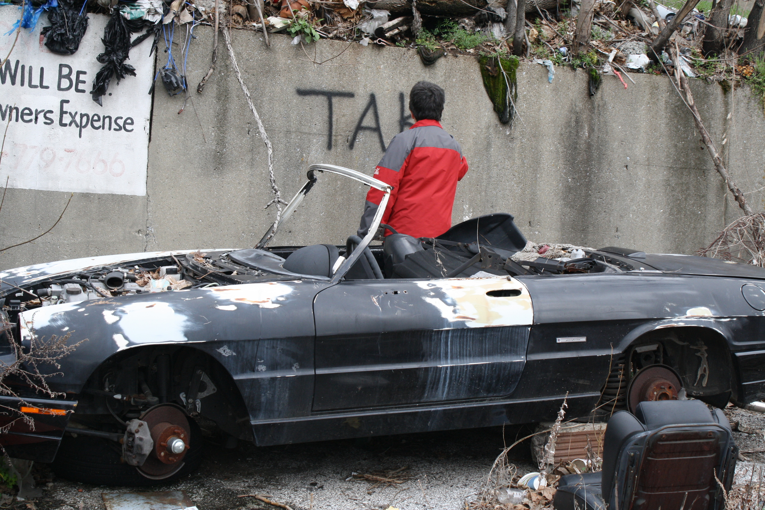 TAKI 183 filming for Wall Writers