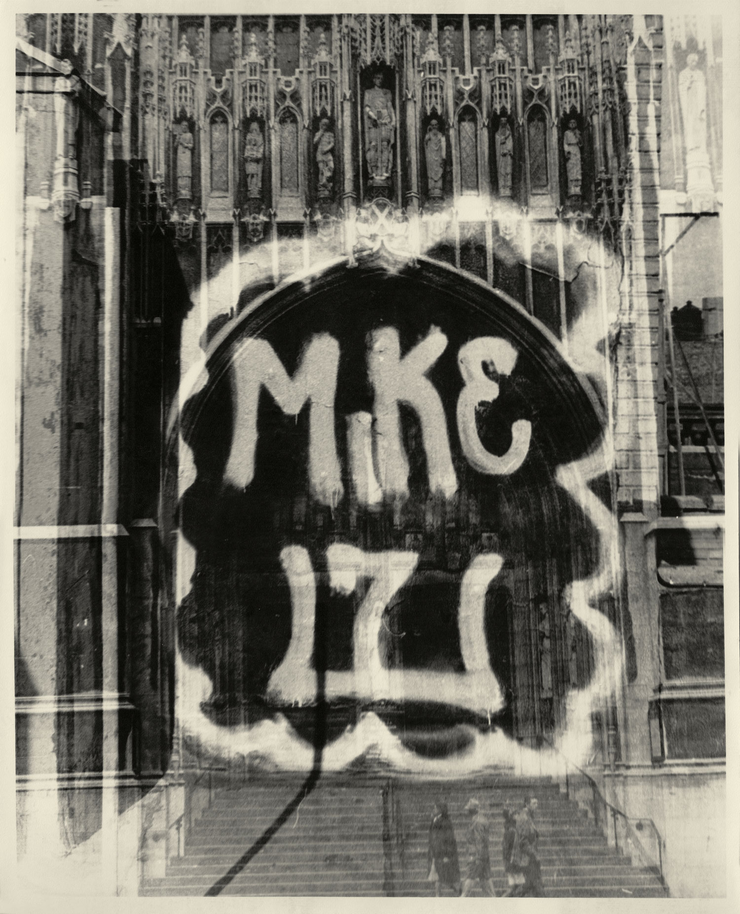 MIKE 171 double exposure, circa 1971.