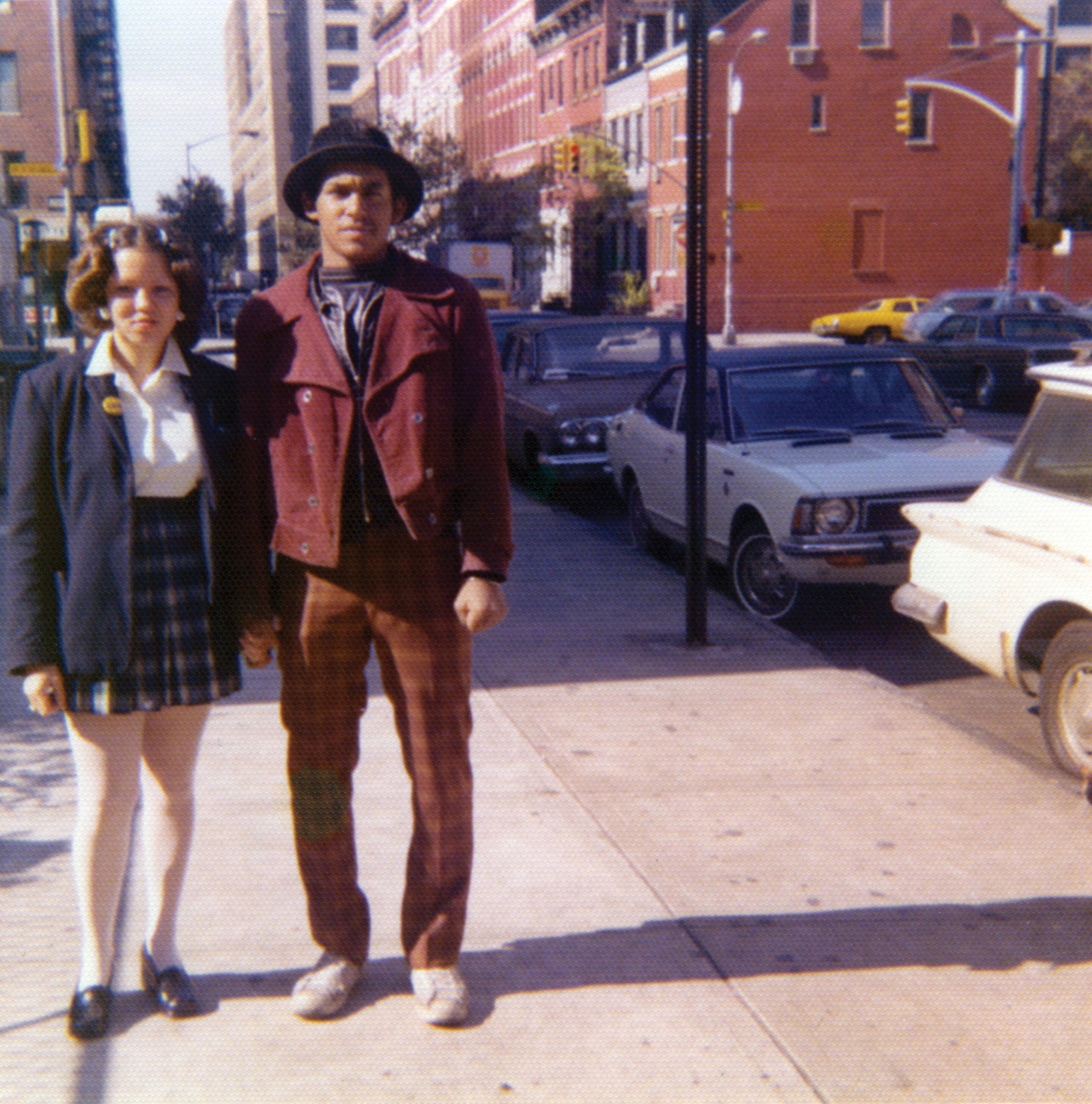 ROCKY 184 and STITCH 1.  Circa 1972.