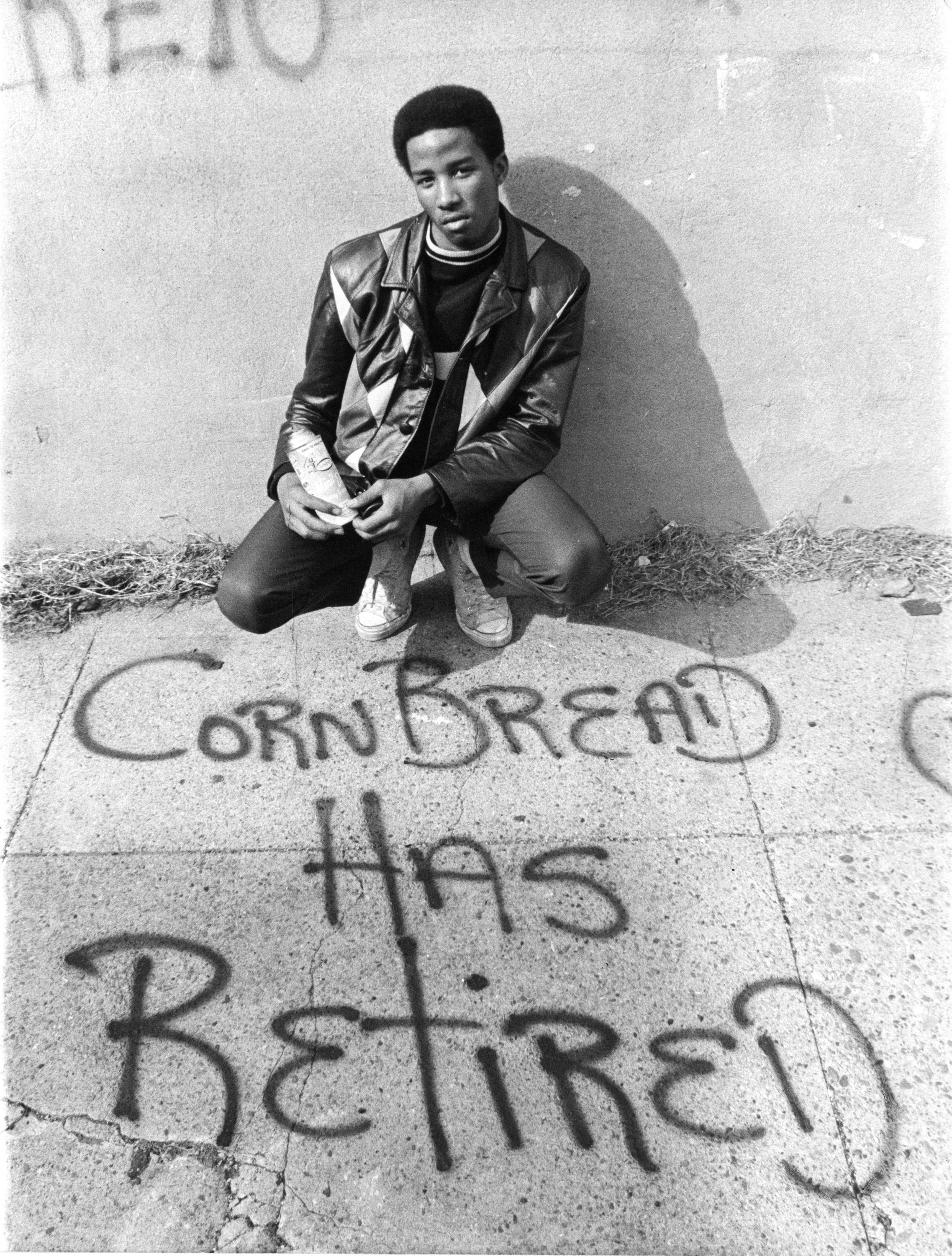 CORNBREAD declares he has retired. 1971.