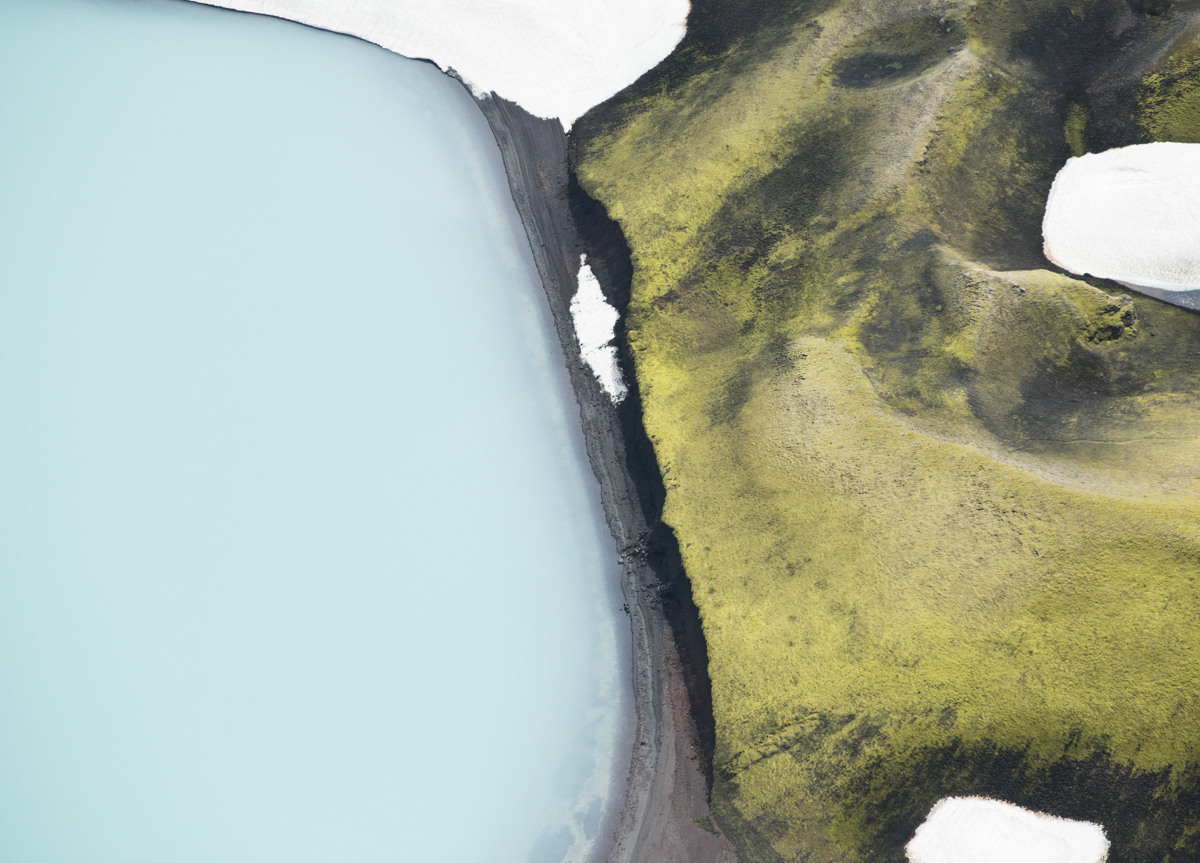 Iceland Abstract 8174