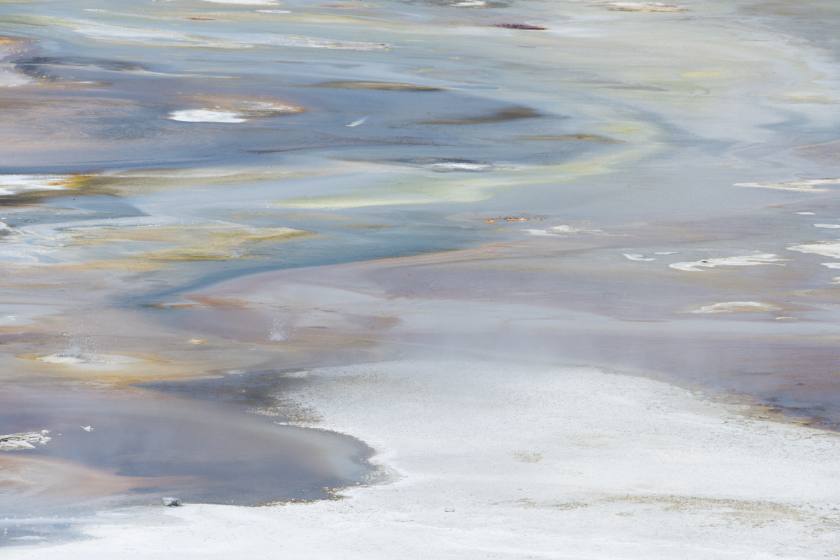 Yellowstone Abstract 1019