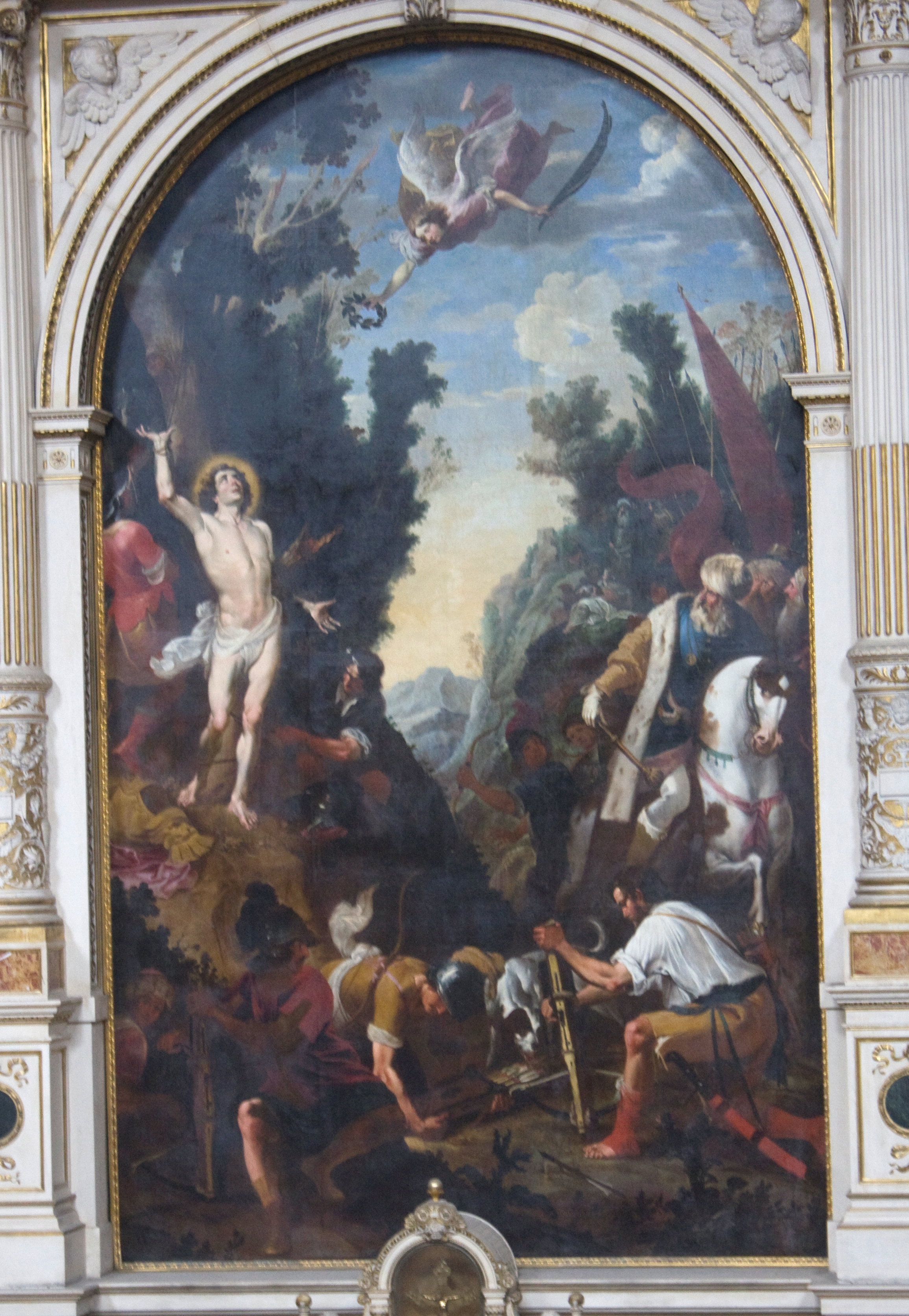 T.Pock Hl.Sebastian Wien Schottenkirche.jpg