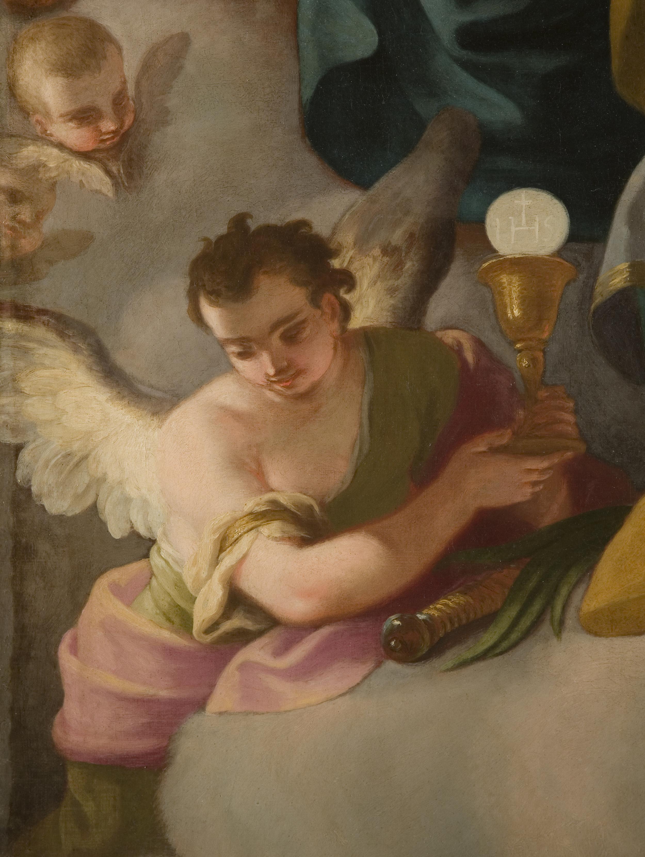 D.Gran Hl.Barbara vor Mutter Gottes Ausschnitt 2 Wien Kiche am Hof.jpg