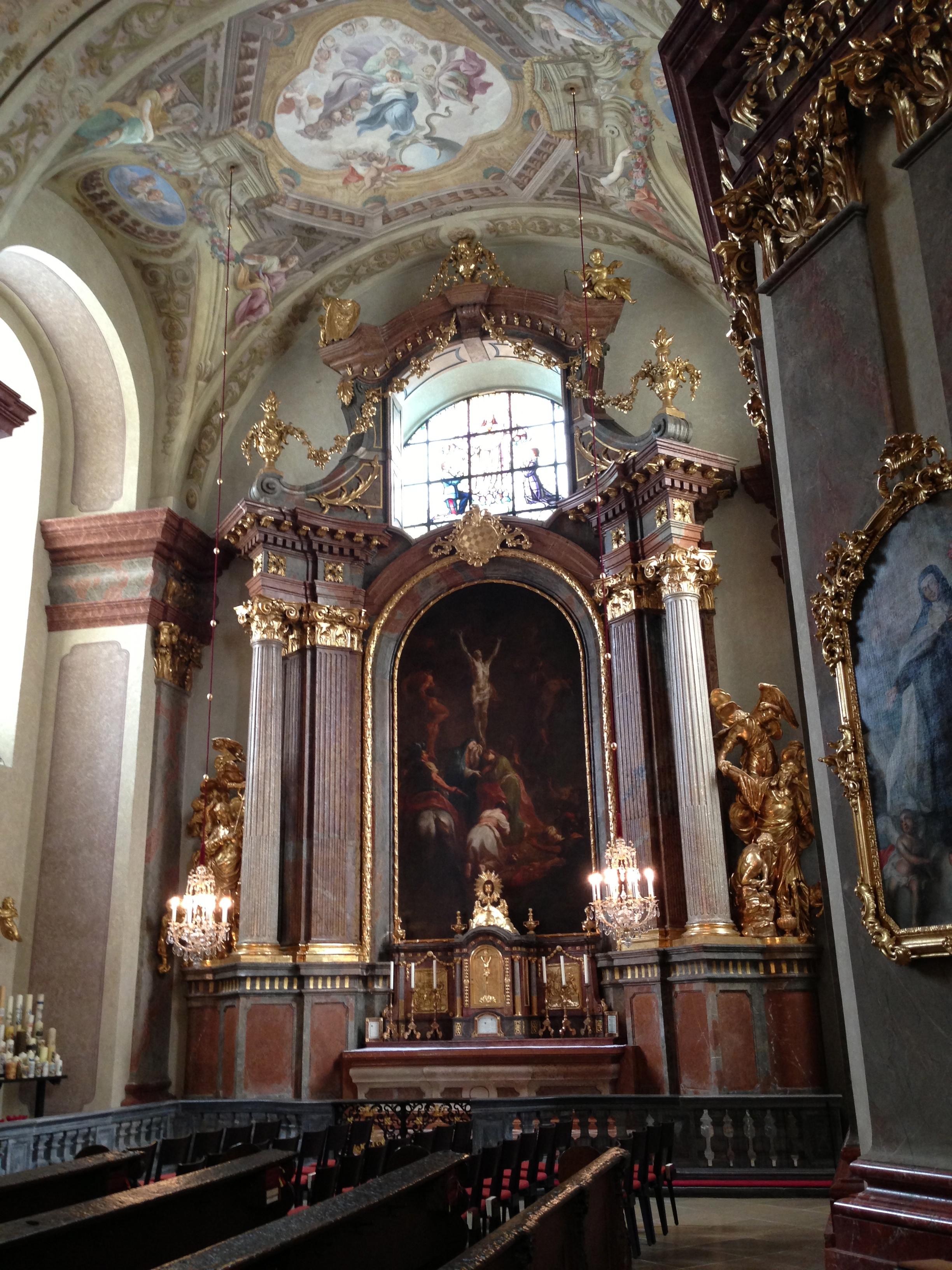 Kreuzigung Christi 1775 Martin J.Schmidt - Zustand nach restaurierung