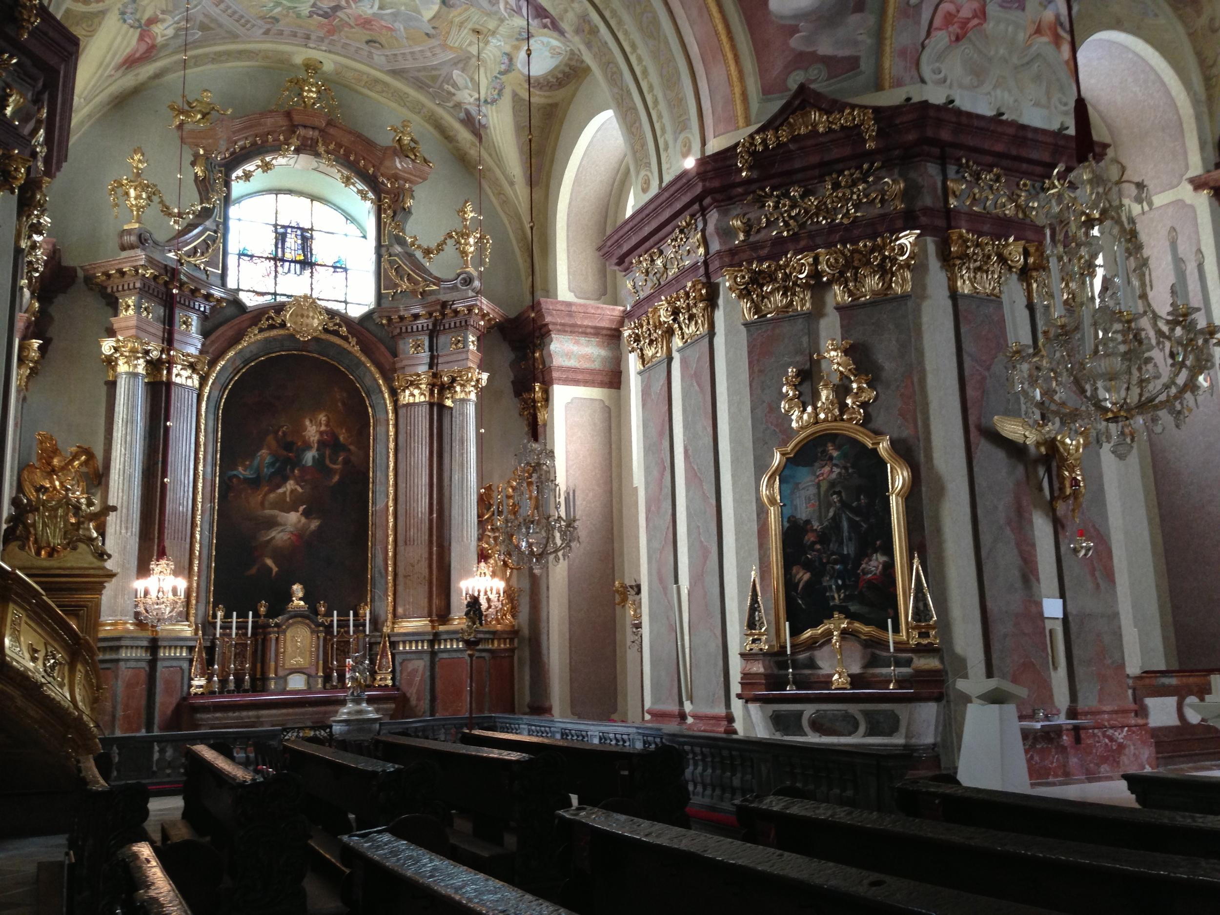 Basilika maria taferl - restaurierte gemälde
