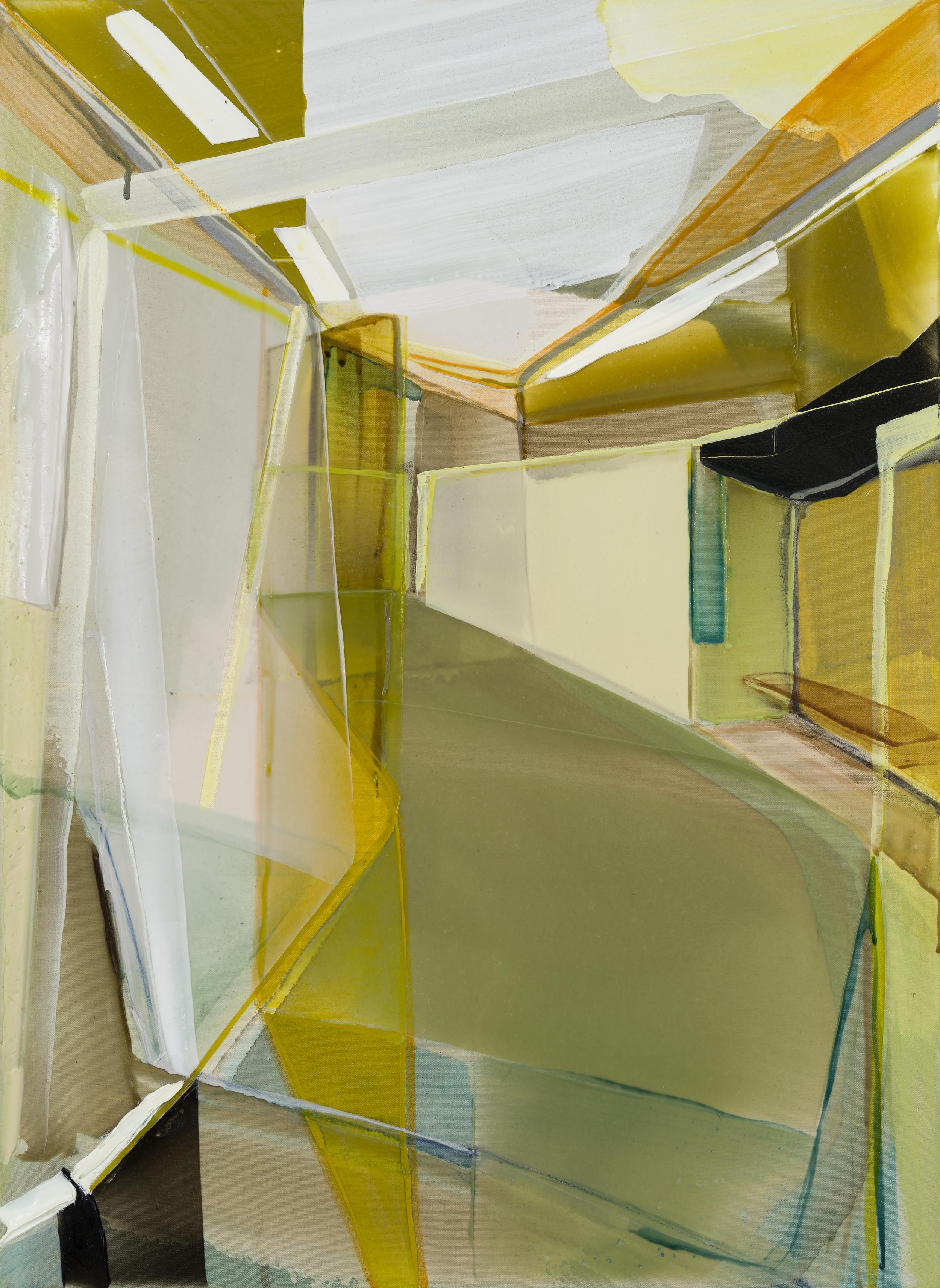 admission, 2016  acrylique sur toile     37'' x 27''