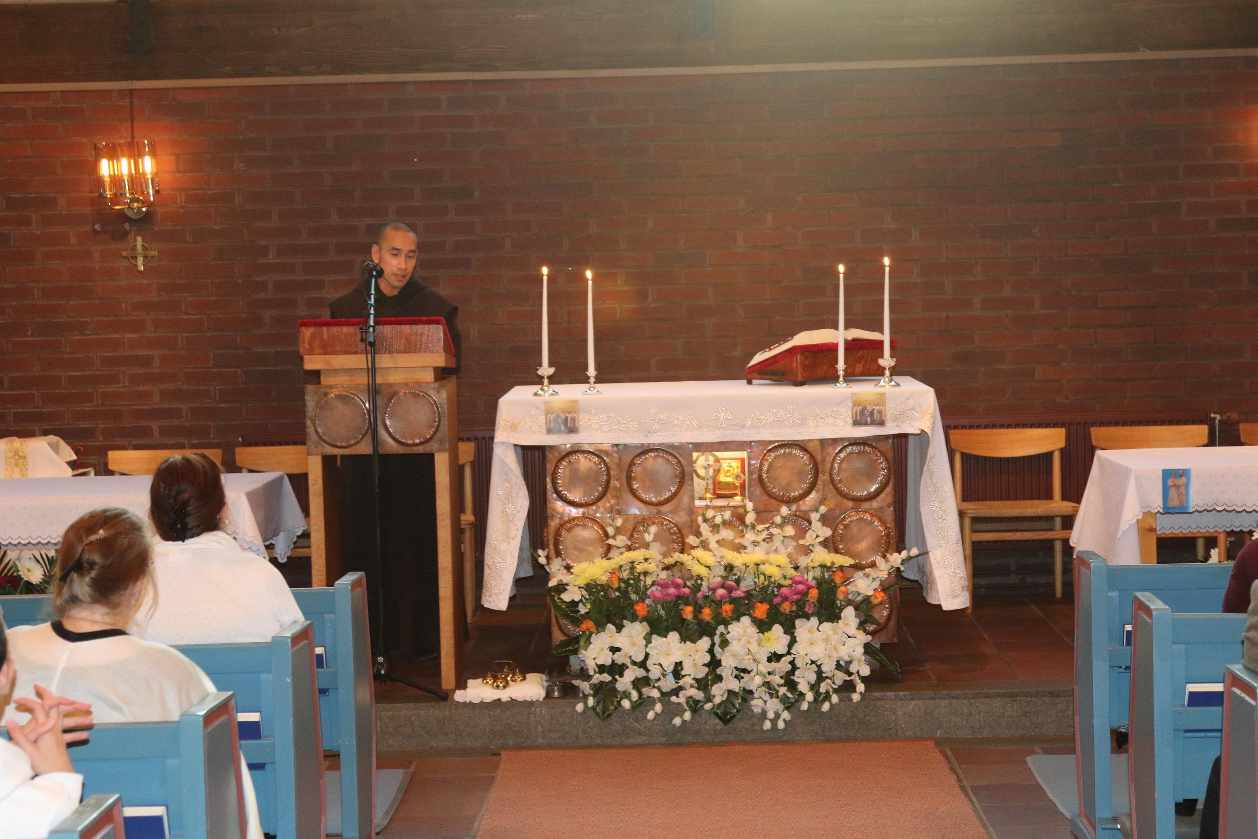 Br Emmanuel OCD - Föreläsning om S:ta Teresa av Jesusbarnet!