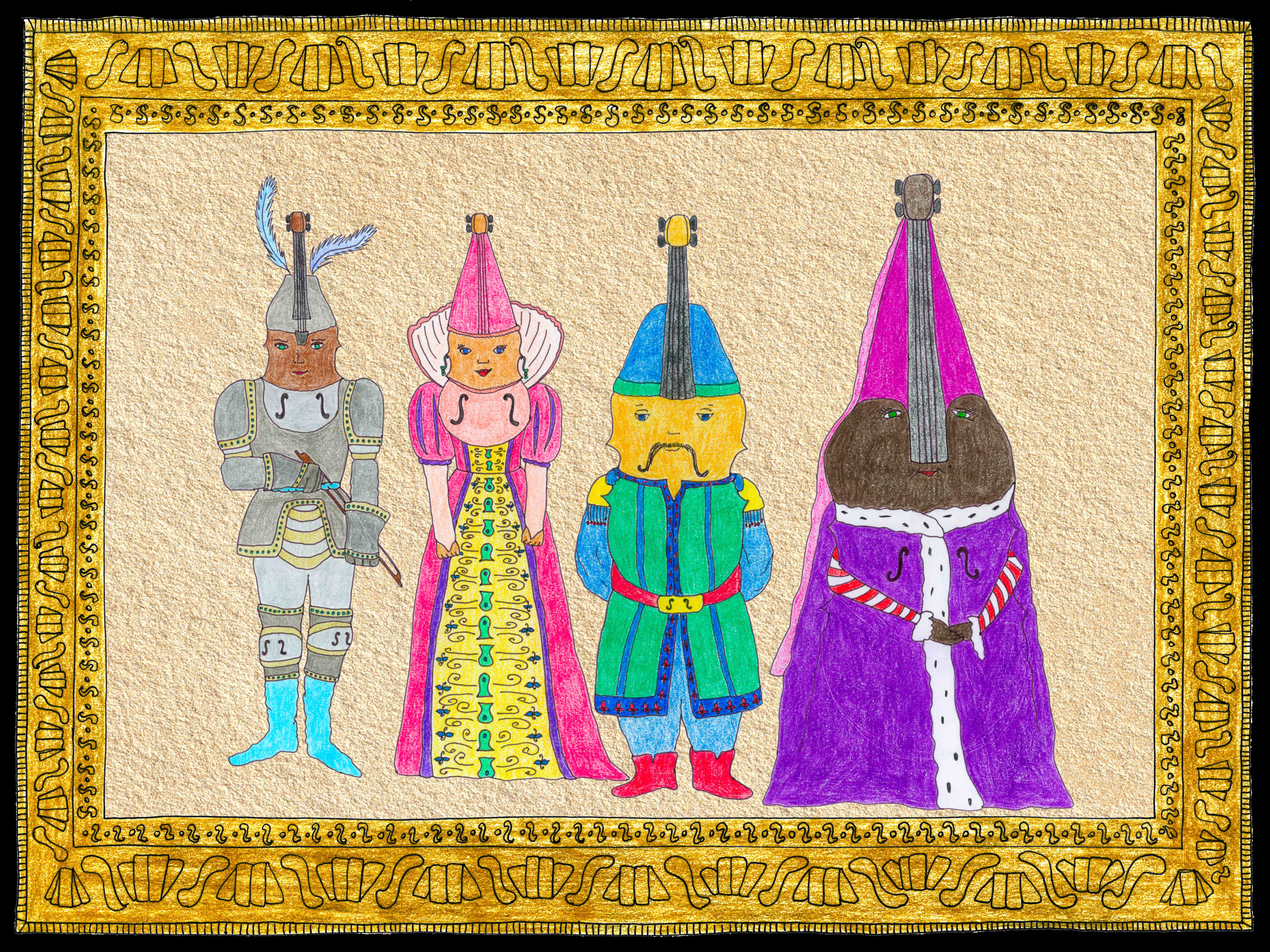 Creative Images - artwork that is inclusive, descriptive and piques kids' imaginations