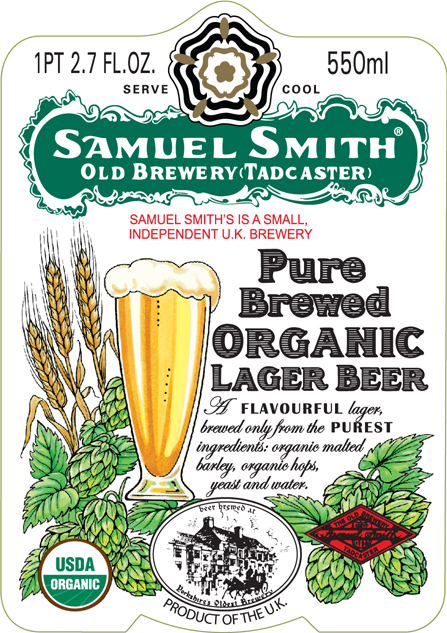 Smith Pure Brewed Organic Lager USA 550ml Front.jpg