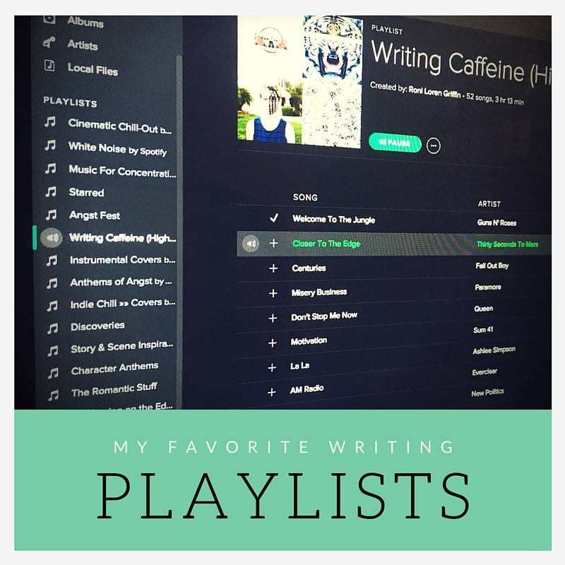 My Favorite Spotify Playlists for Writing