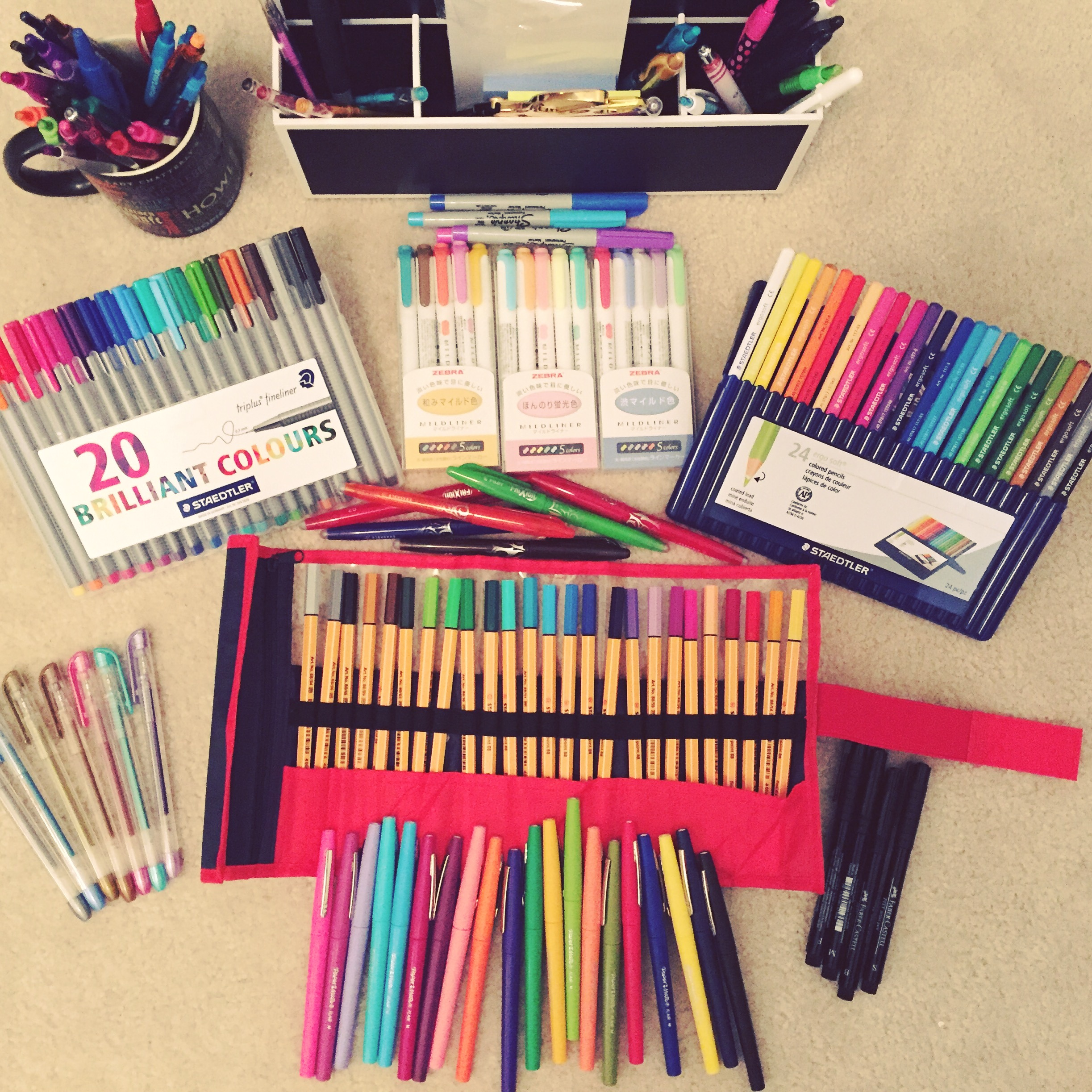 My pen/pencil collection