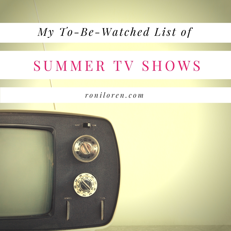Summer TV Shows To Watch 2016