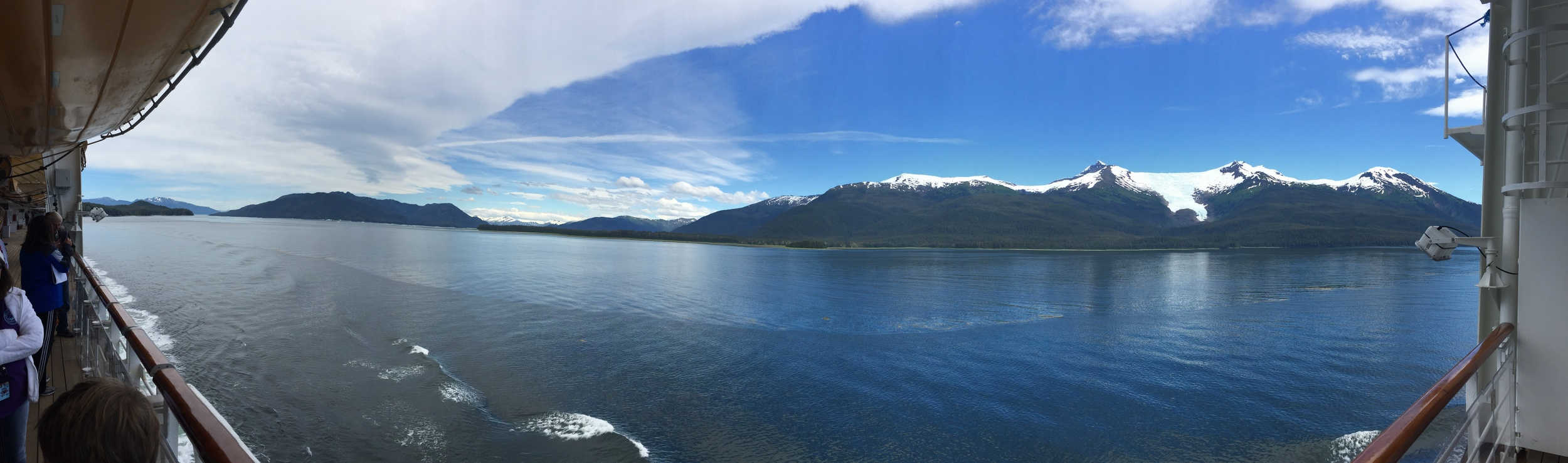A panorama from the ship.